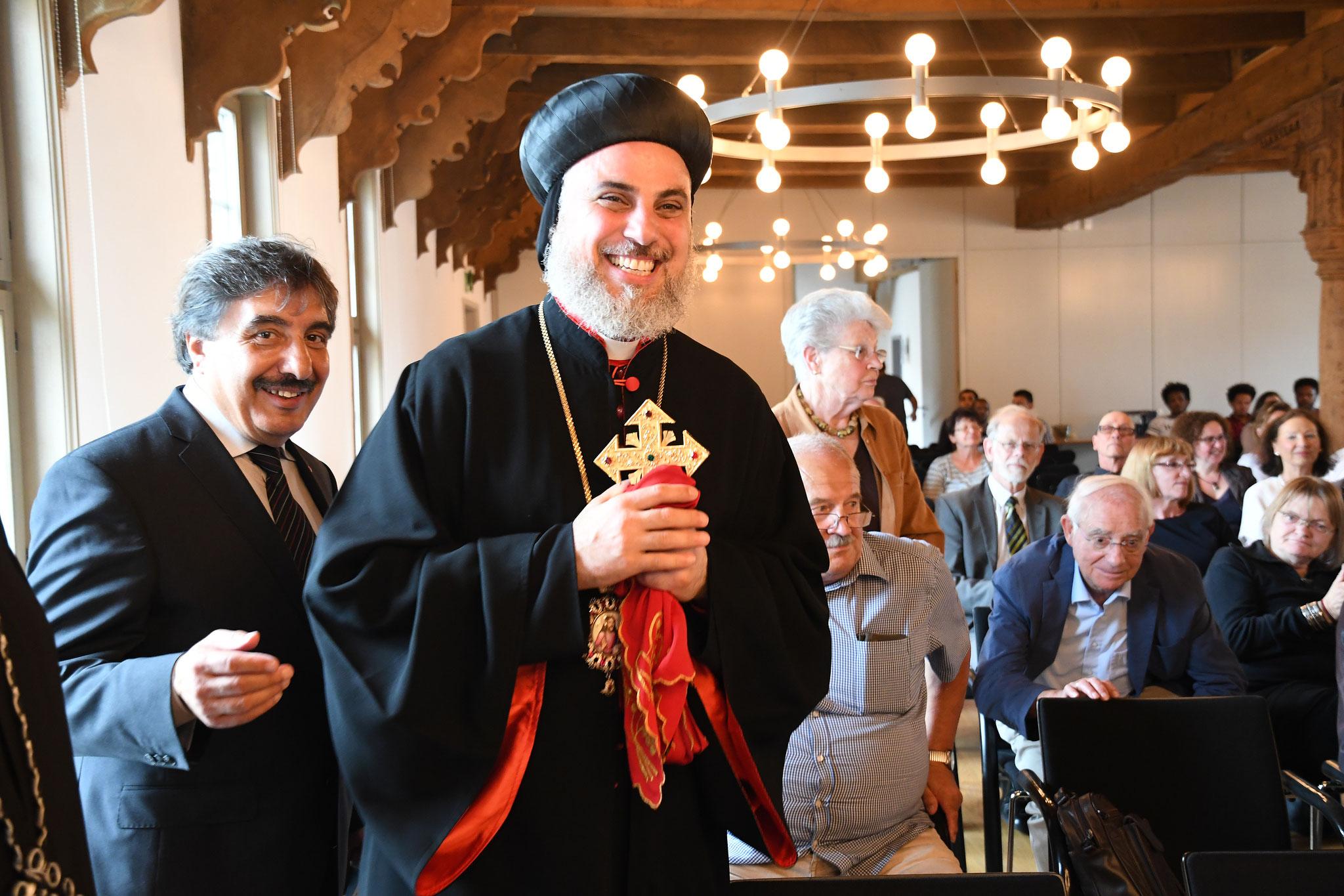 S. Em. Erzbischof Mor Philoxenus Mattias Nayis (Syrisch-Orthodoxe Kirche). Foto: Maria Hopp