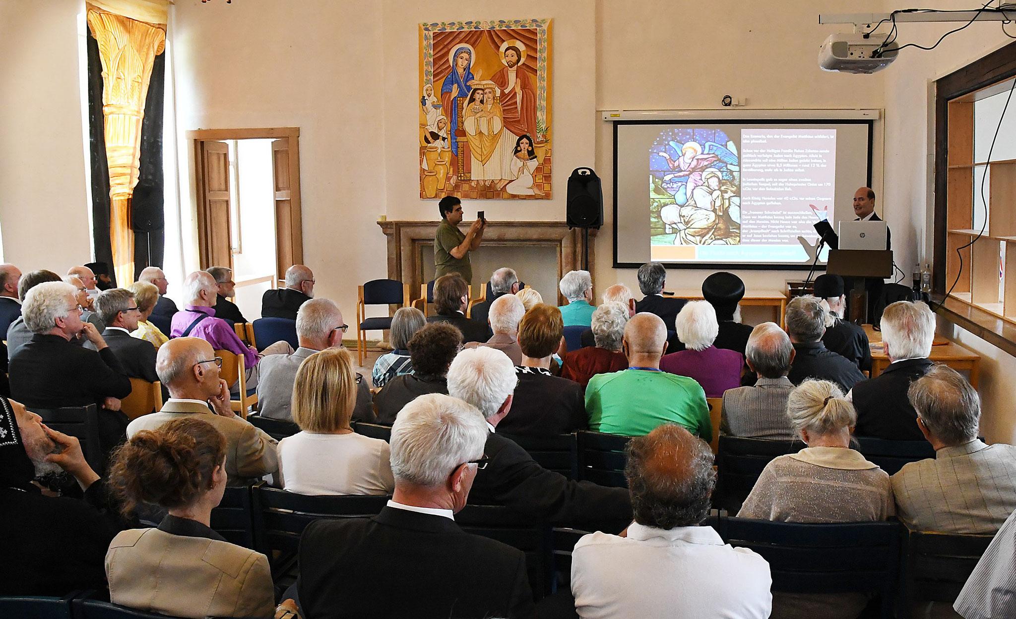 Vortrag von Dr. h.c. Michael Hesemann. Foto: Maria Hopp