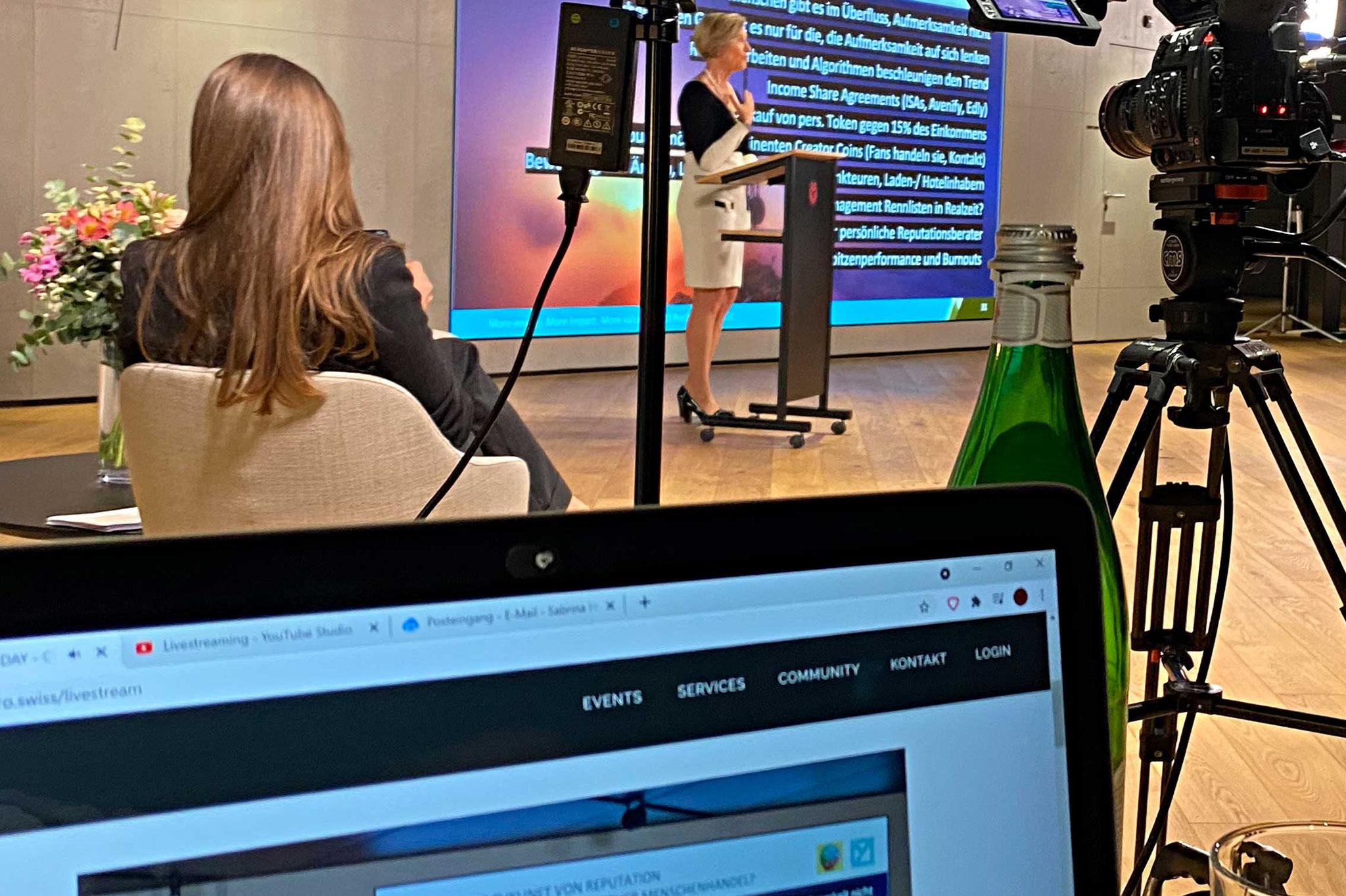 Referentin Susanne Müller Zantop, Founder und Chairwoman der CEO Positions AG