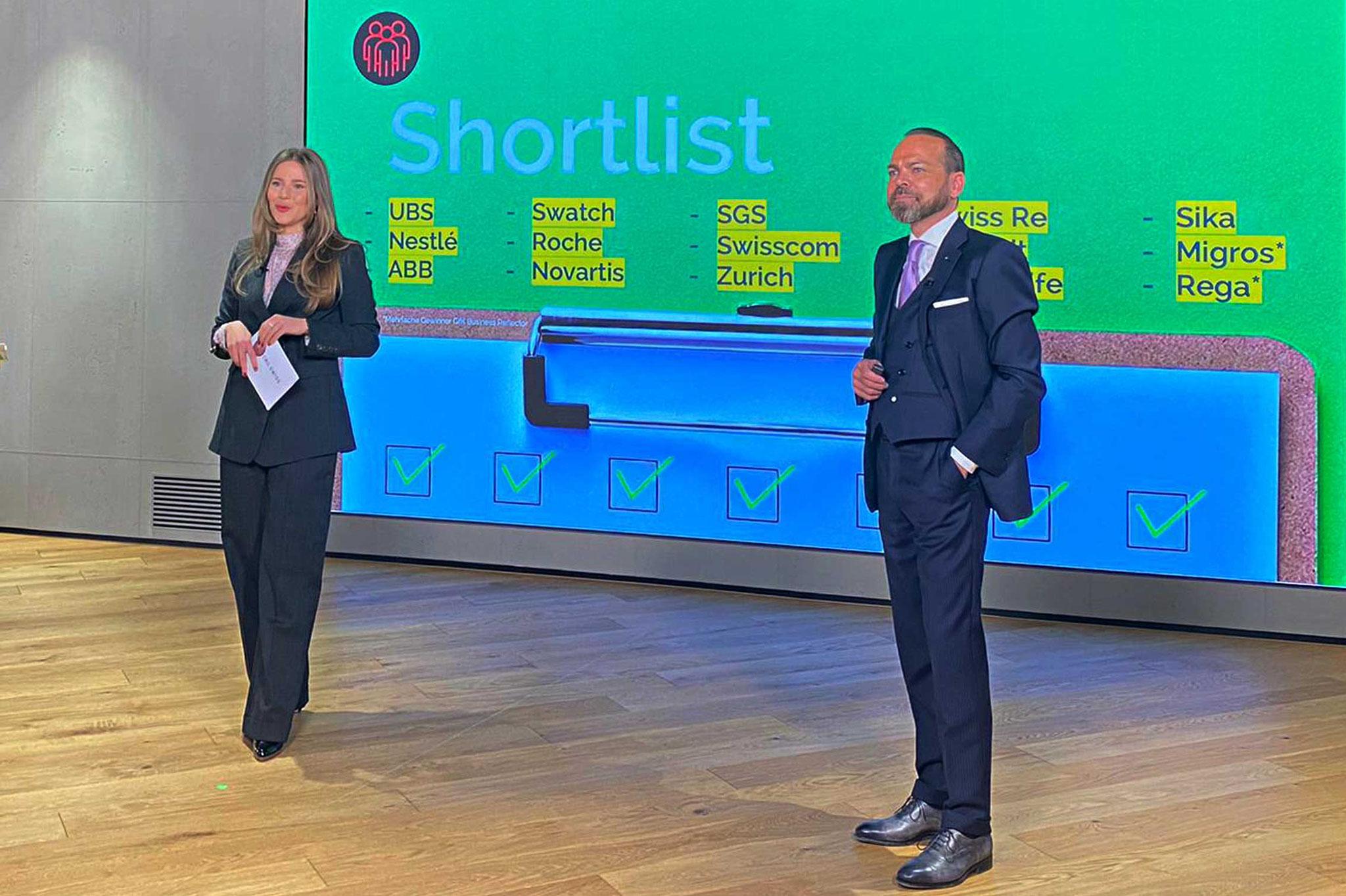Die Shortlist für den Swiss Reputationmanagement Award wird vorgestellt
