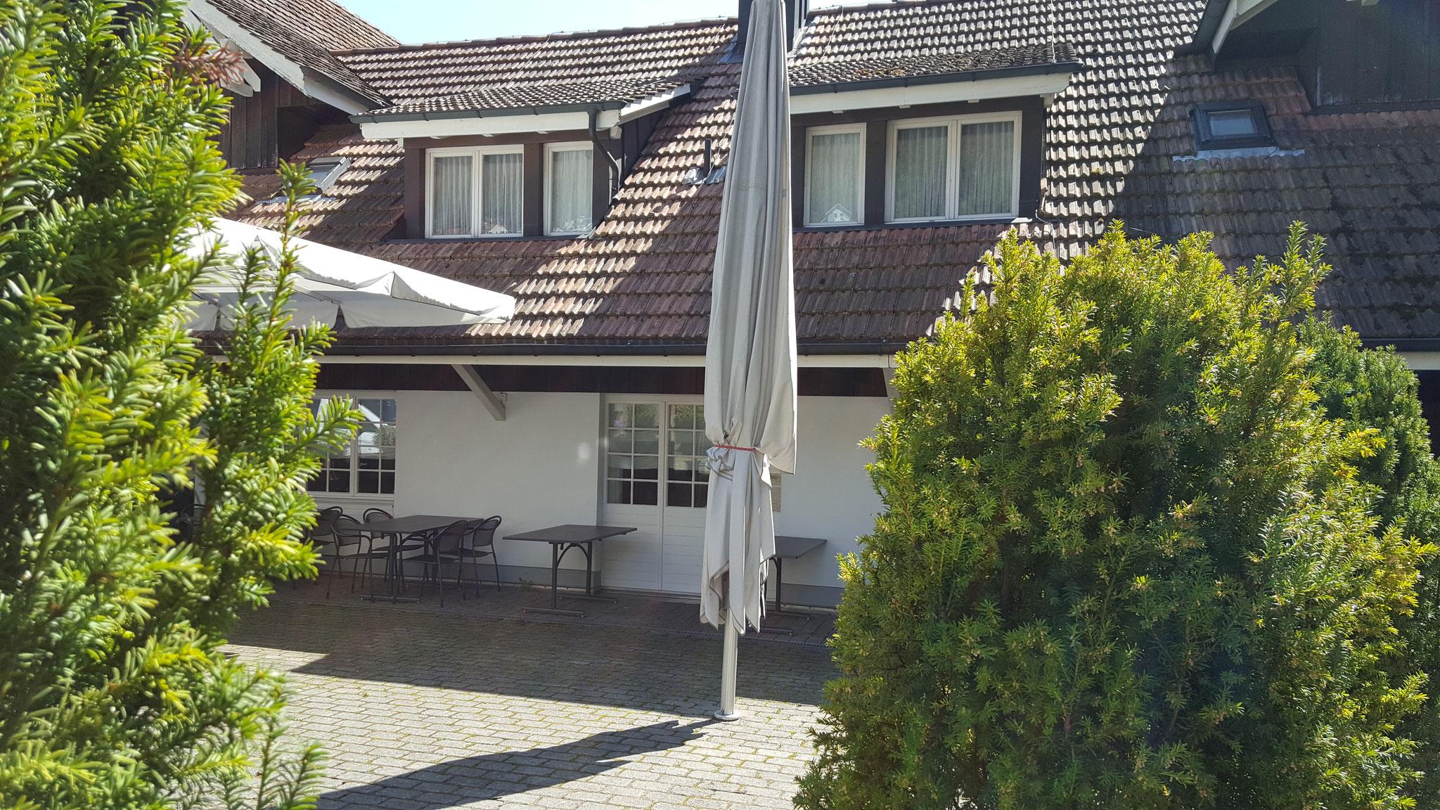 Verbandstagung in Egerkingen (Schweiz): Hotel Gasthof Kreuz, Oltnerstrasse 11, CH-4622 Egerkingen (Aussenansicht, Fassade Hofseite)