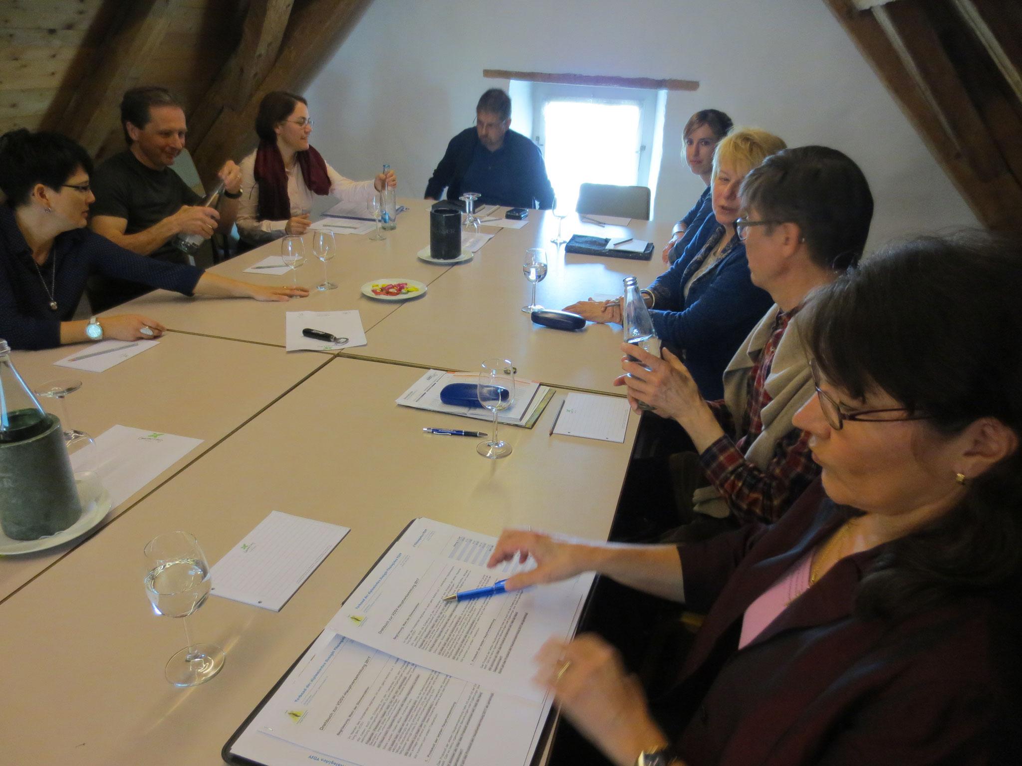 HV VDSV: Ordentliche Hauptversammlung des europäischen Verbandes der dipl. Straight Vitalogisten