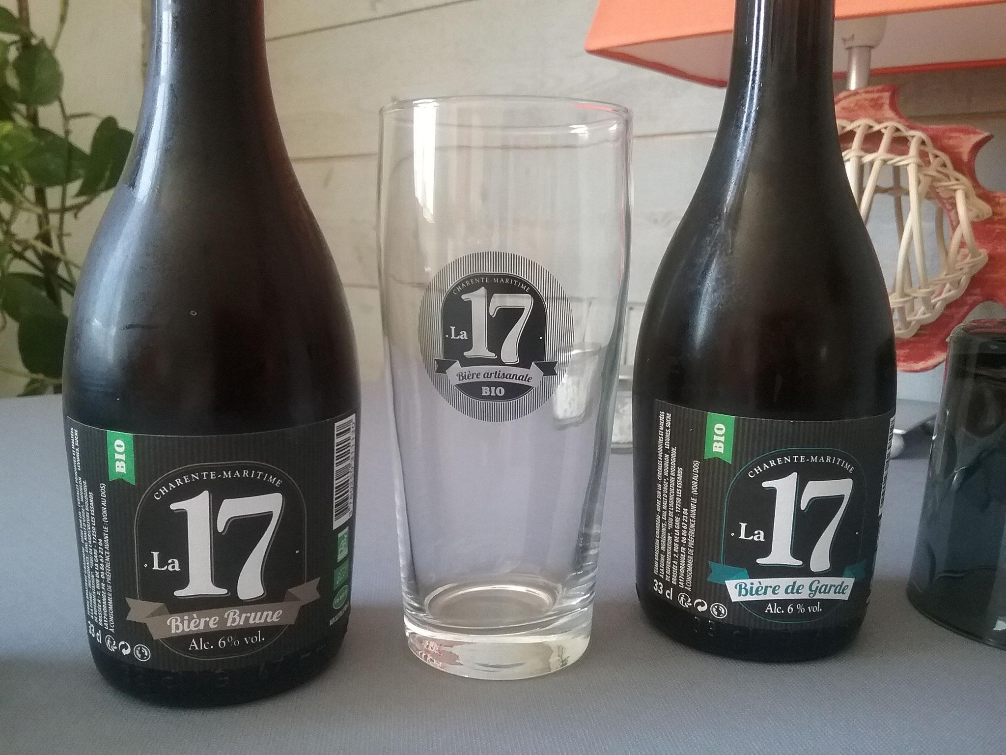 Fournisseur de bière artisanale Bio, Ferme Malterie La 17 Les Essards