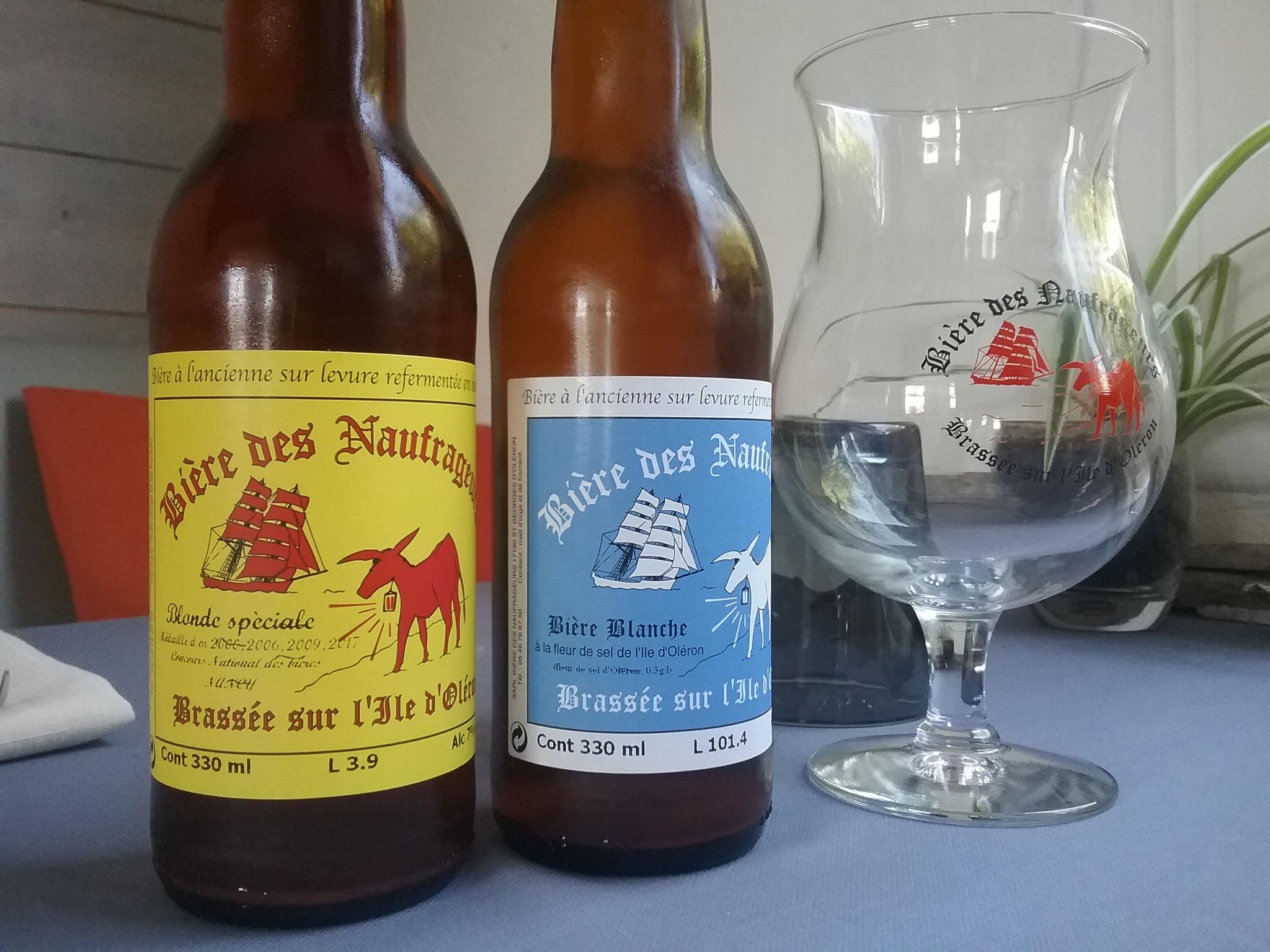 Fournisseur de bière paysanne, Bière des Naufrageurs à St Georges