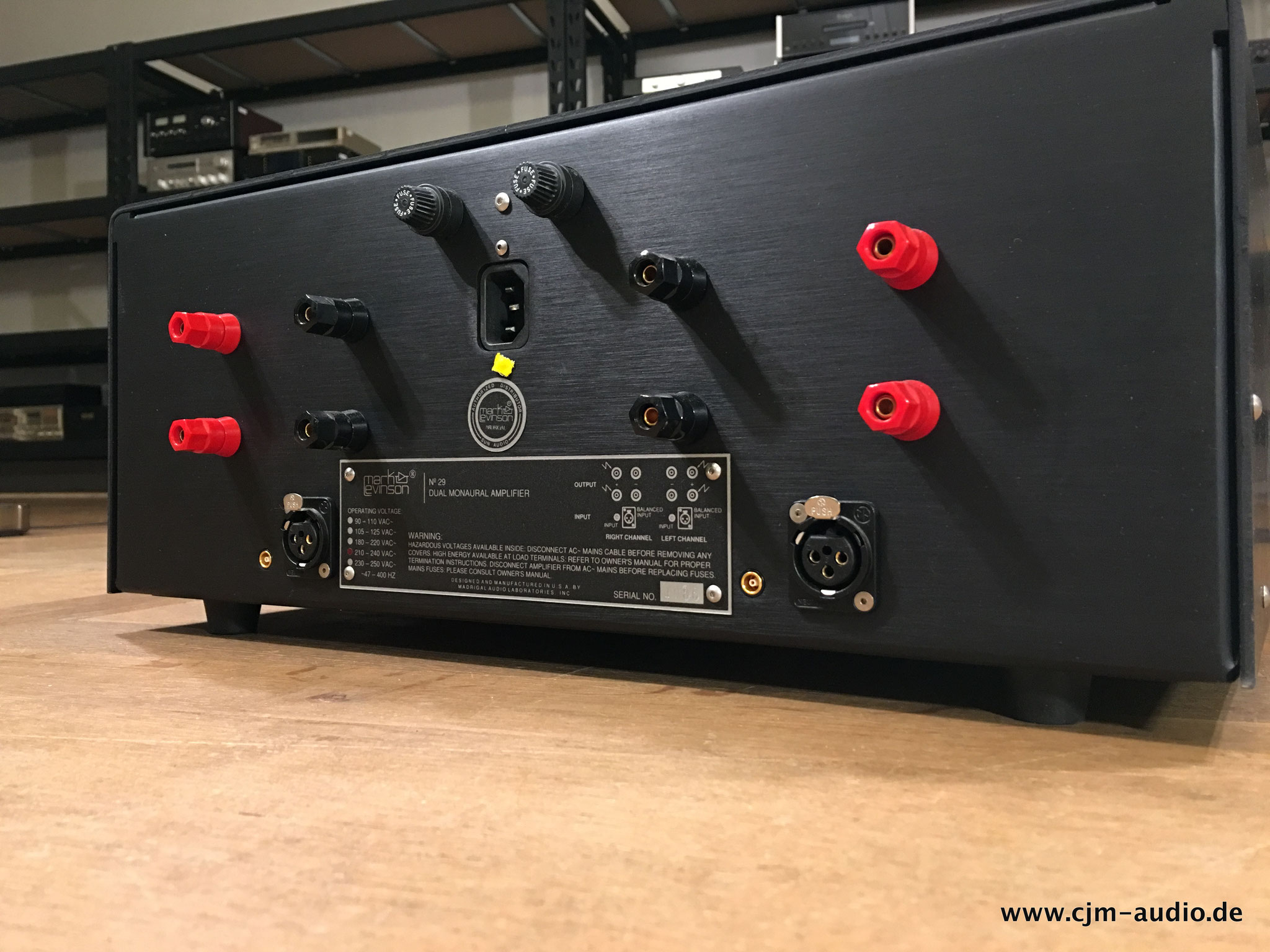 Mark Levinson - cjm-audio High End Audiomarkt für