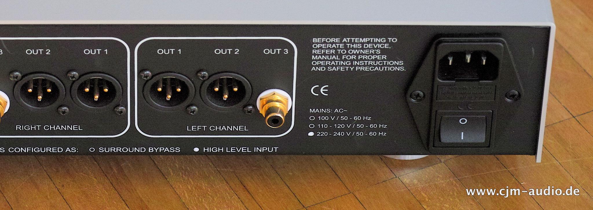 Accustic Arts Preamp 1 Balanced Mkii Cjm Audio High End Audiomarkt Preamplifier