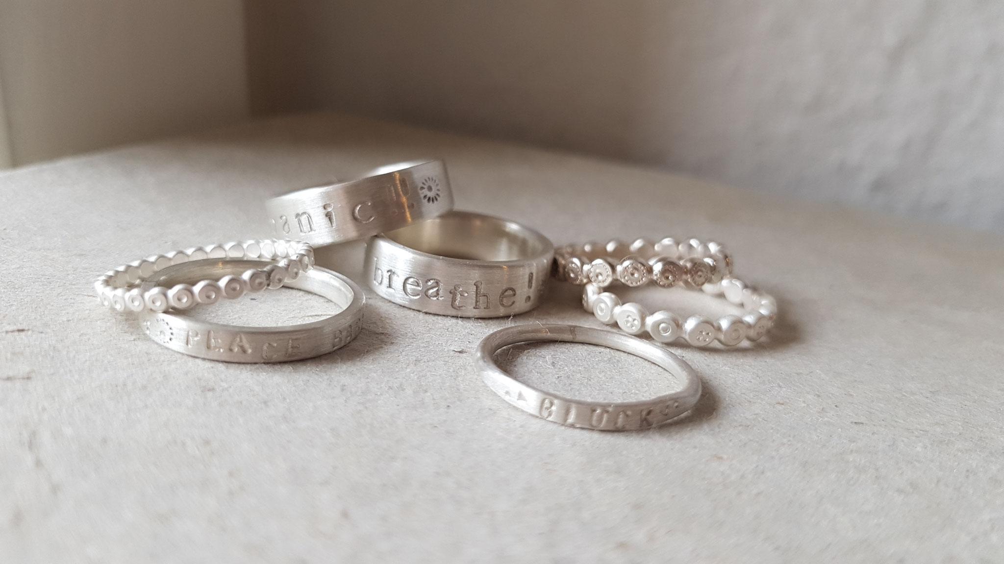 Ringe in Silber 925