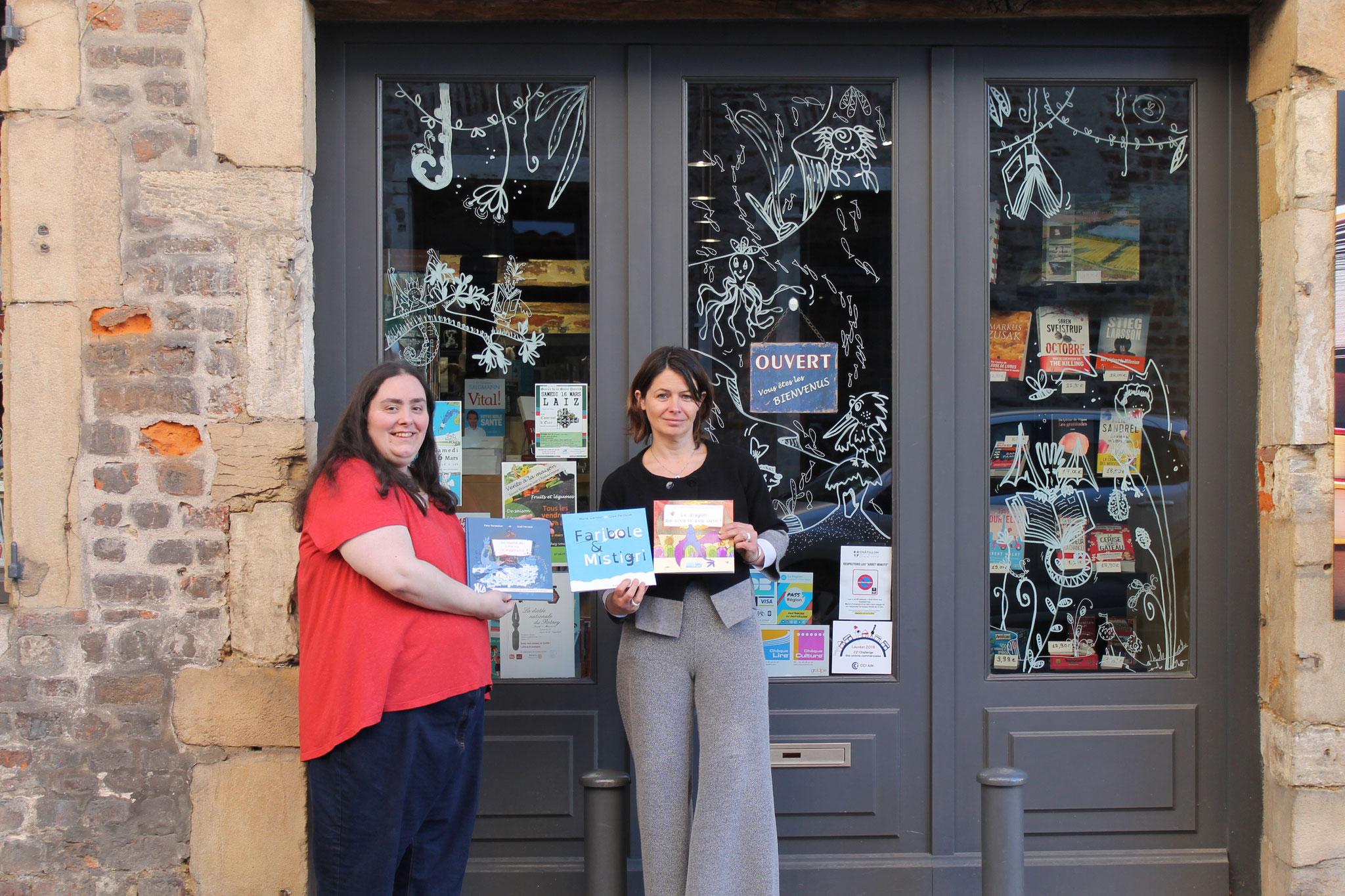 Les livres de l'illustratrice Cloé Perrotin à la Librairie La Nouvelle Page