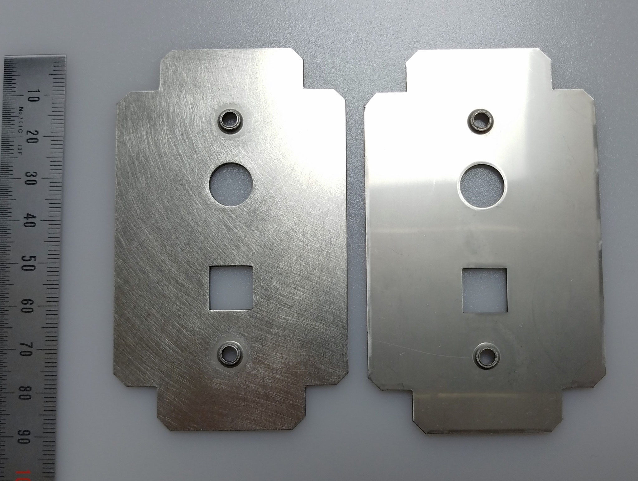 SUS304 t=1.5㎜ スマートフレックスディスクにてバーリング有製品も加工可能。
