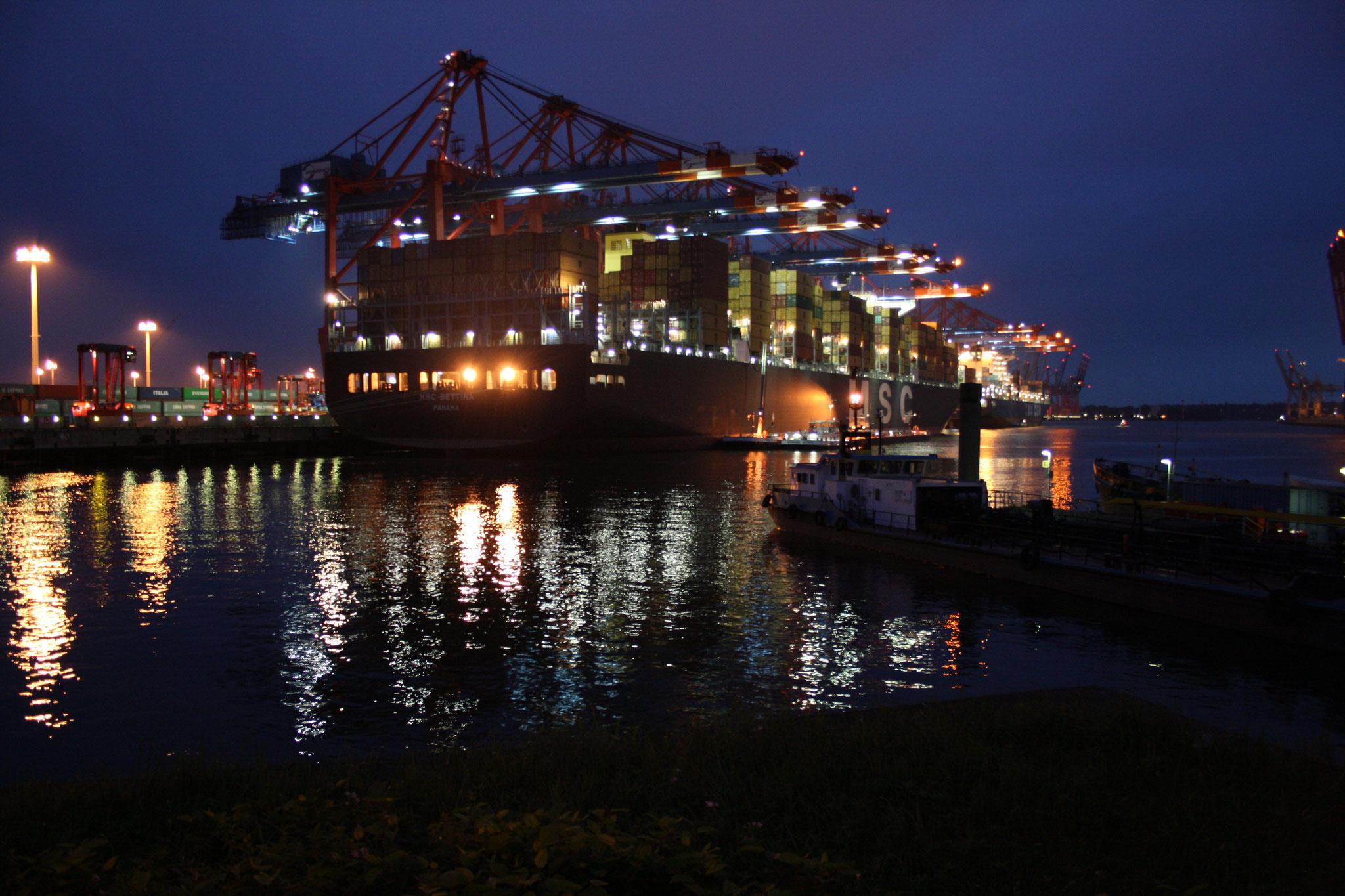 Eurogate-Terminal, Hamburger Hafen, Doku, DVD - Der Hafen schläft nie
