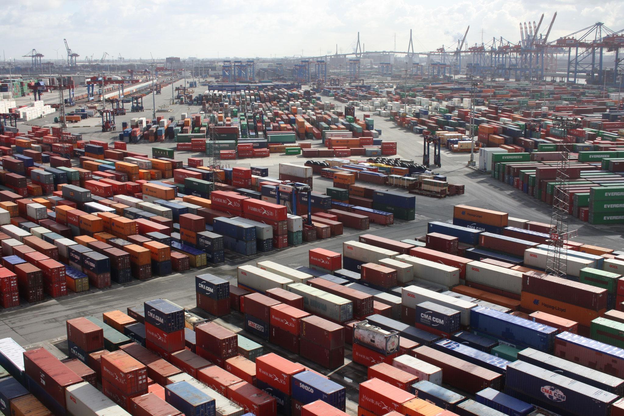 Burchardkai, Hamburger Hafen, für Spiegel Online