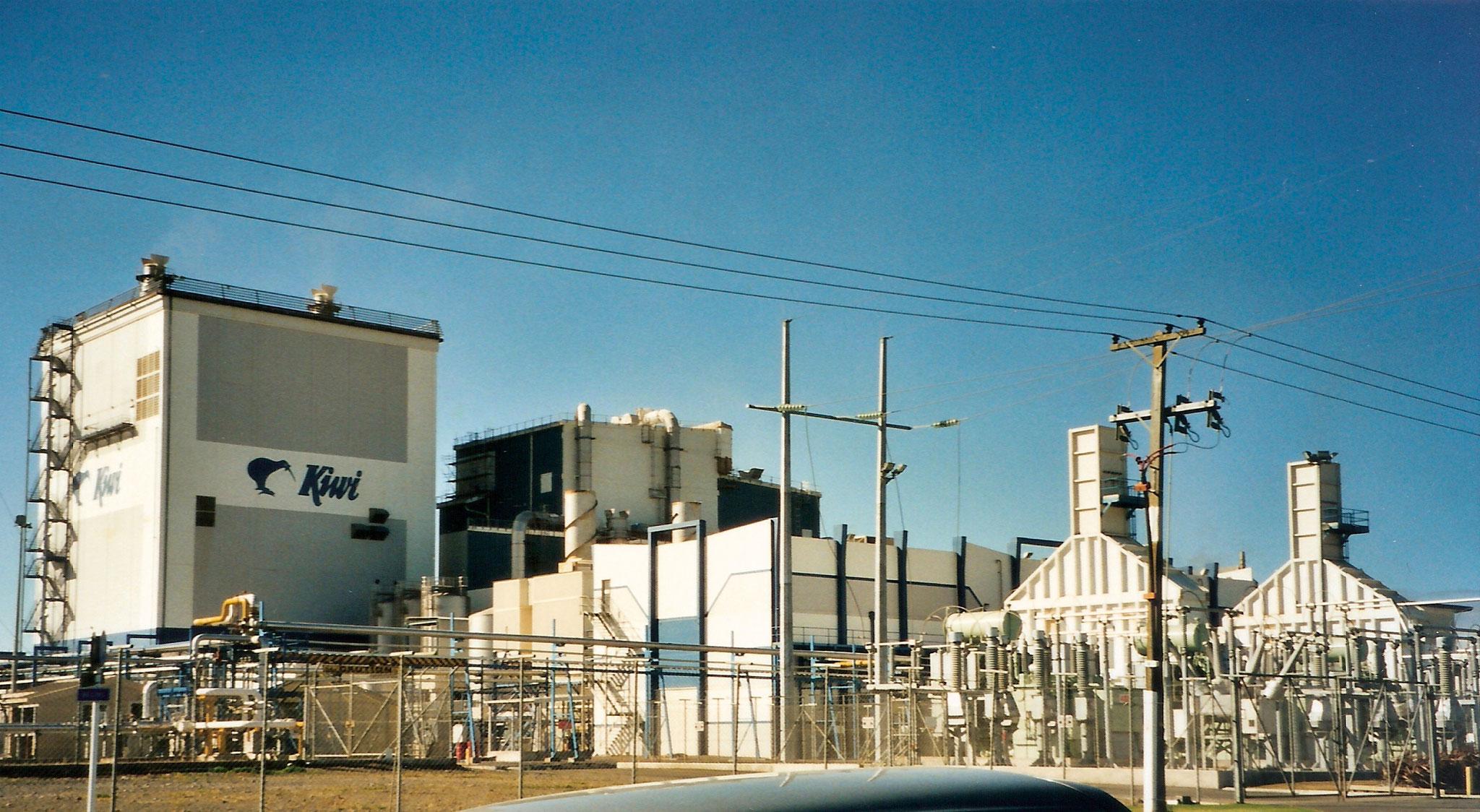 Milchindustrie, Hawera, Neuseeland