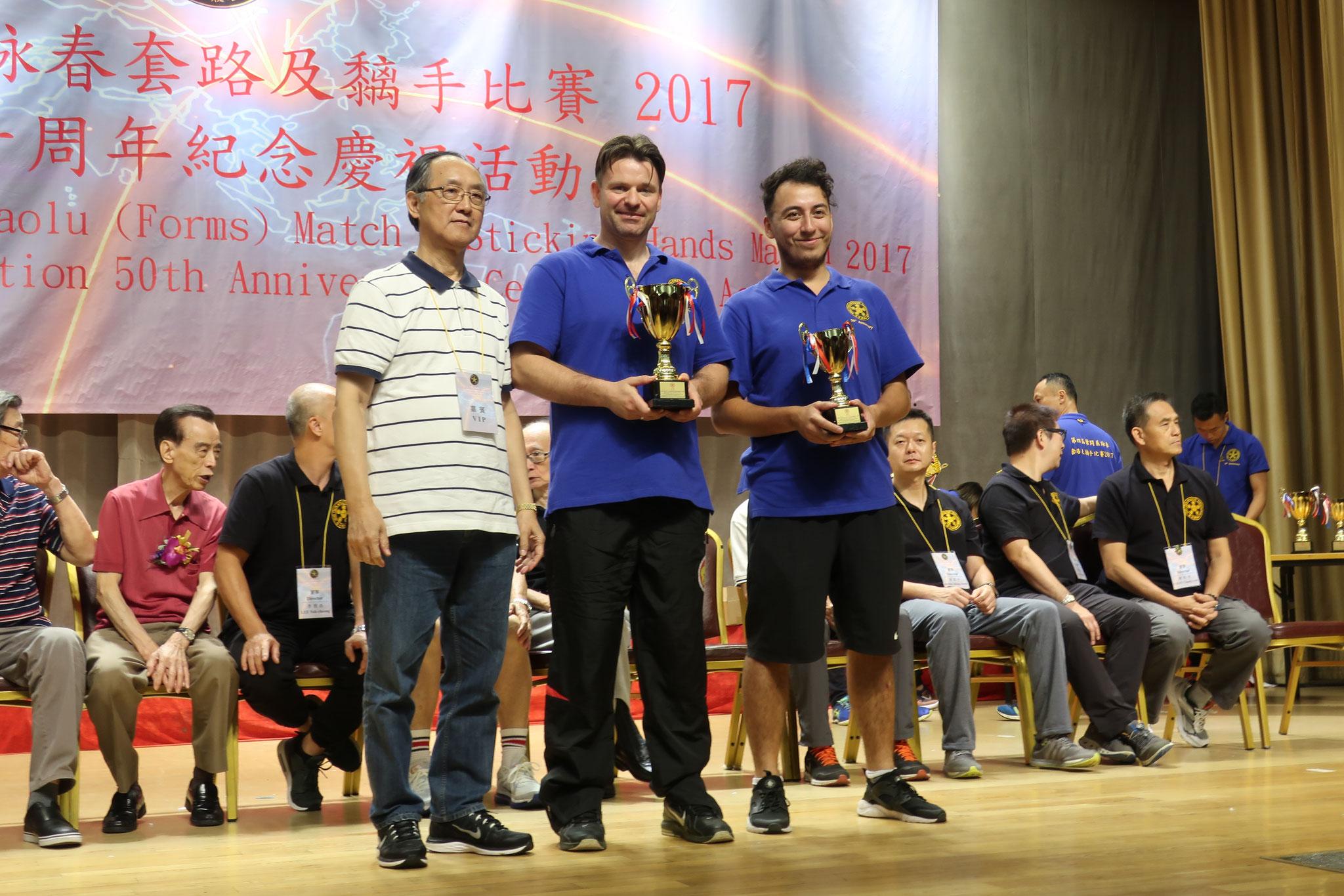 VTAA Champion of Hongkong 2017 Siegerehrung Pokal