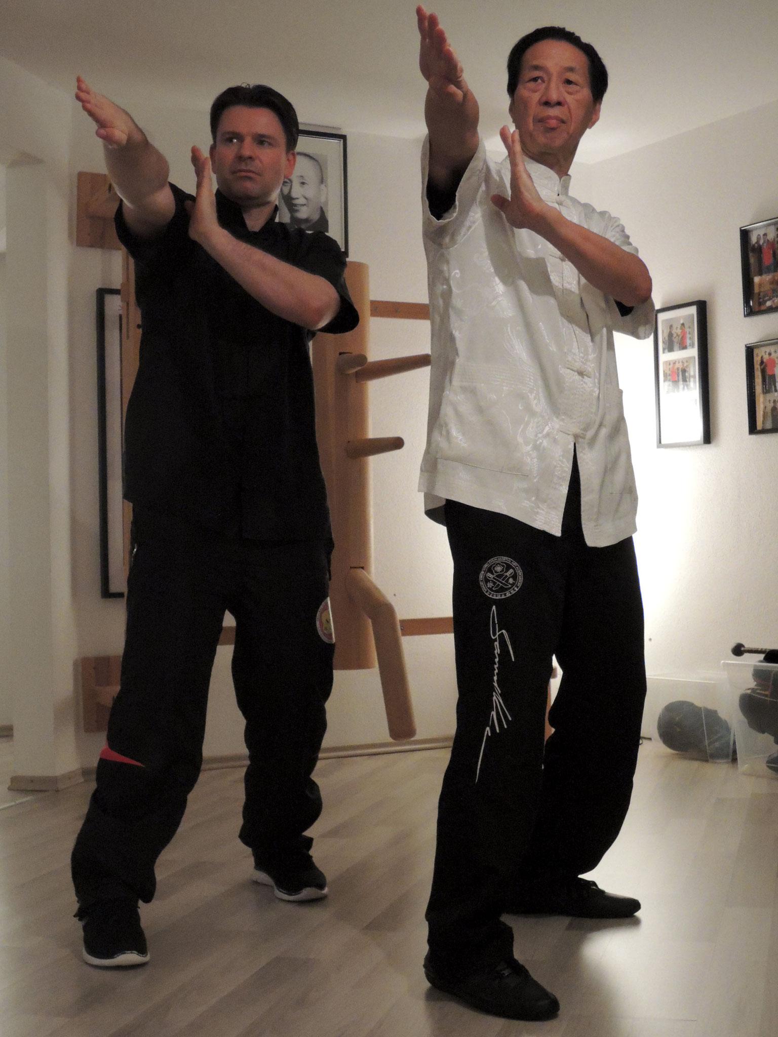 Markus Schinhammer und Samuel Kwok private Training