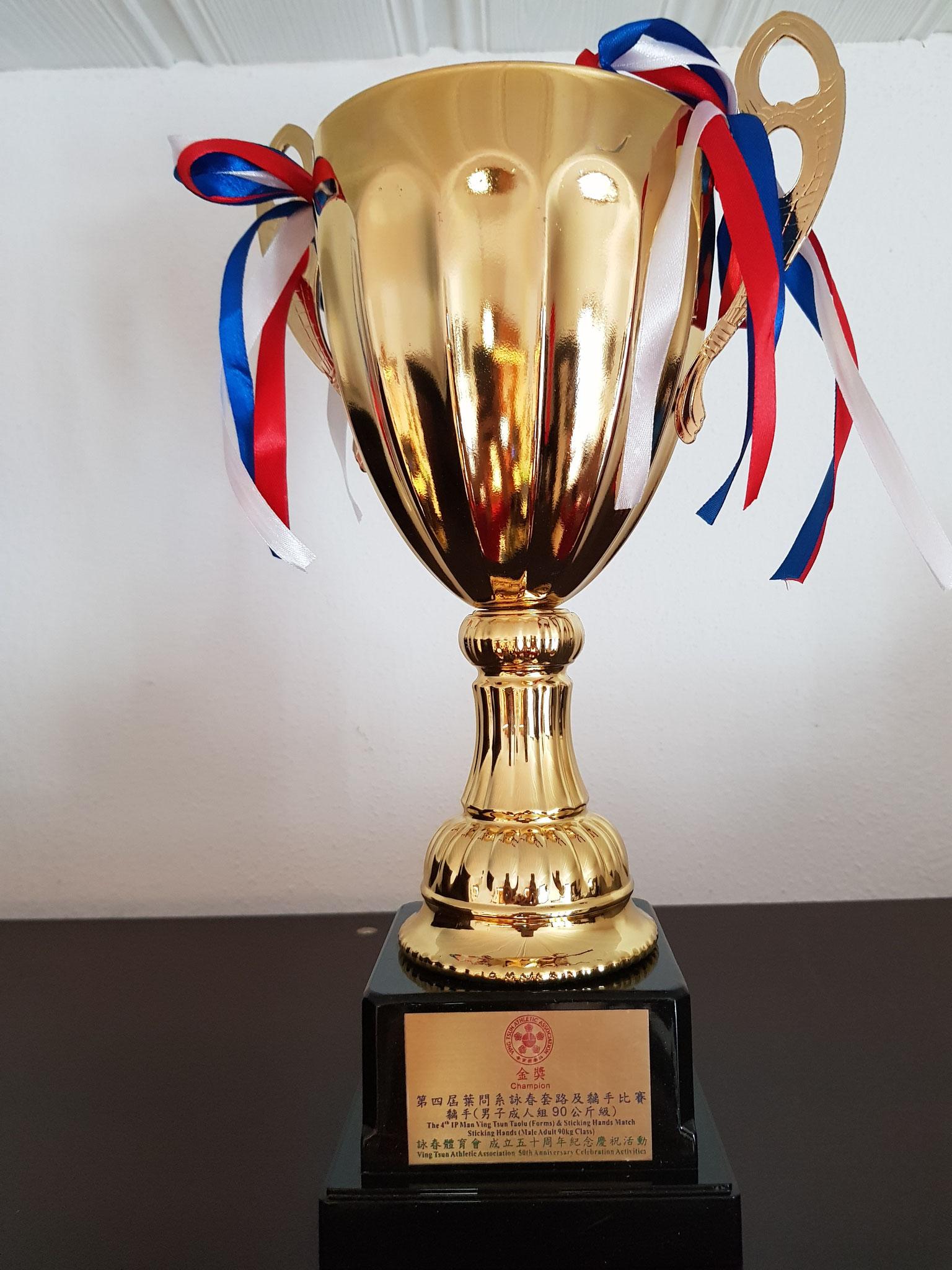 Champion of Hongkong 2017 Pokal