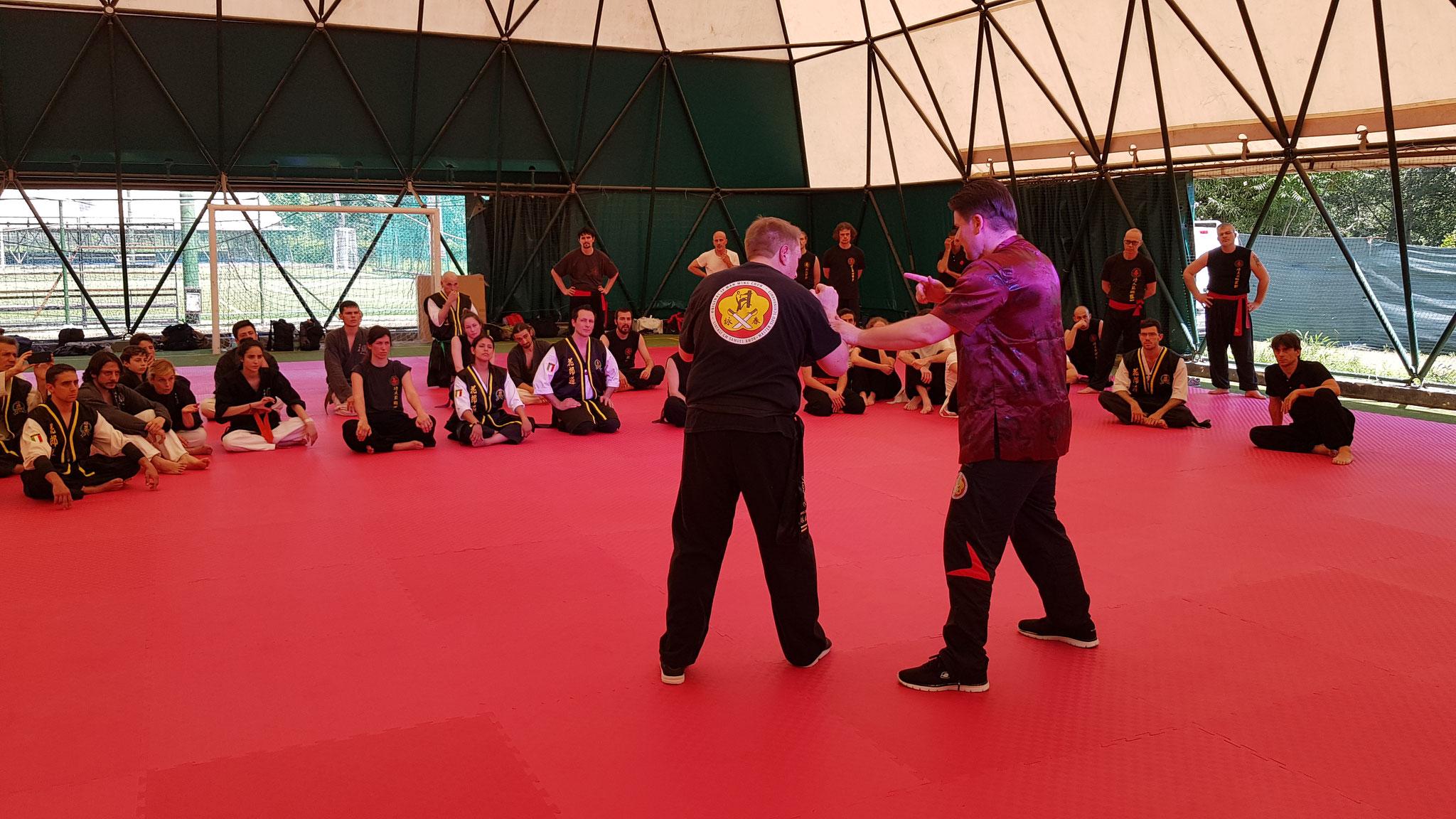 Budo Masters Rome Wing Chun Seminar Teil 2
