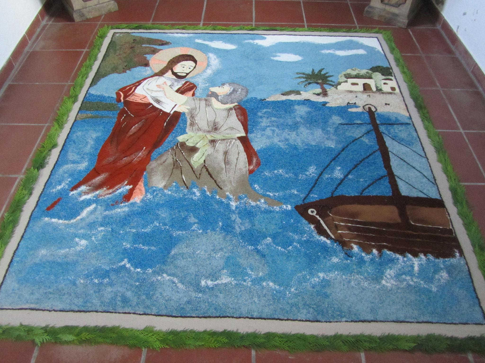 2017 - Der Gang Jesu über das Wasser