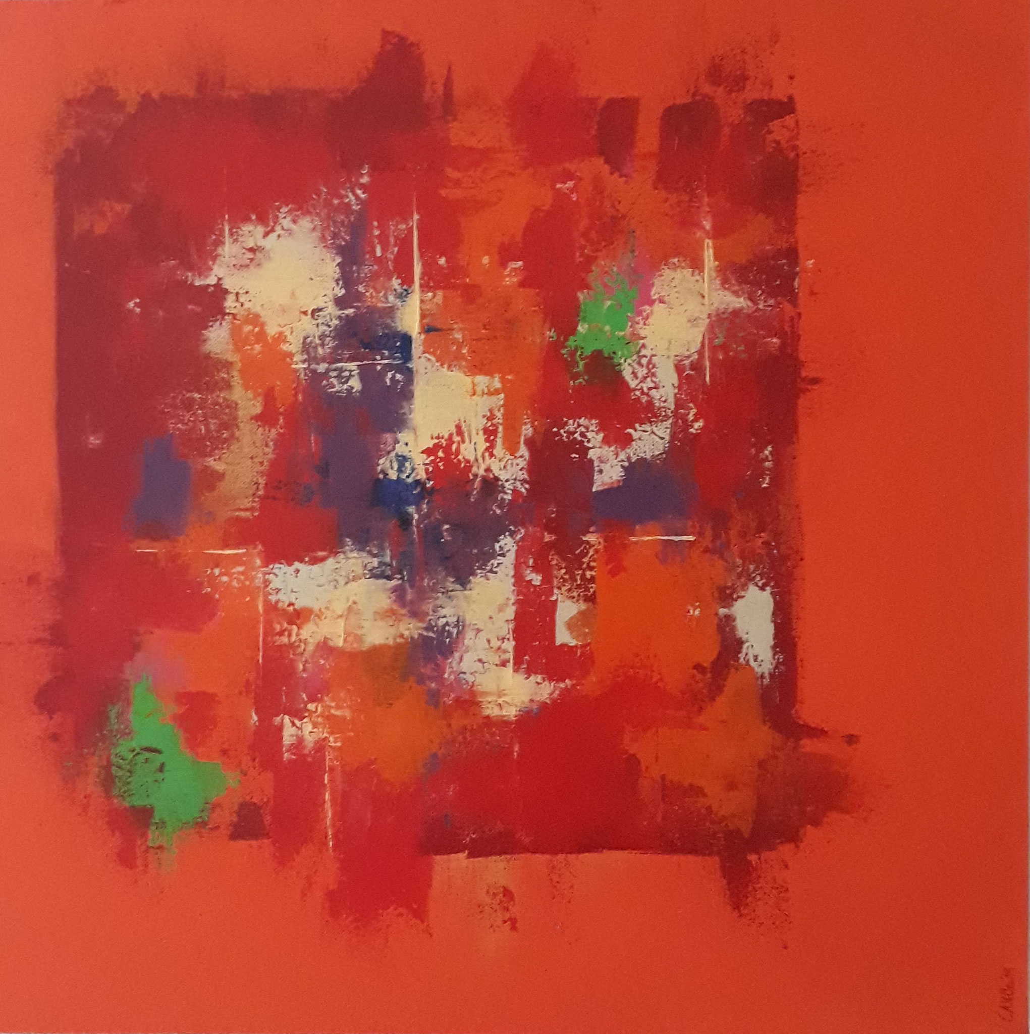 """Orange"", Christiane Velten"