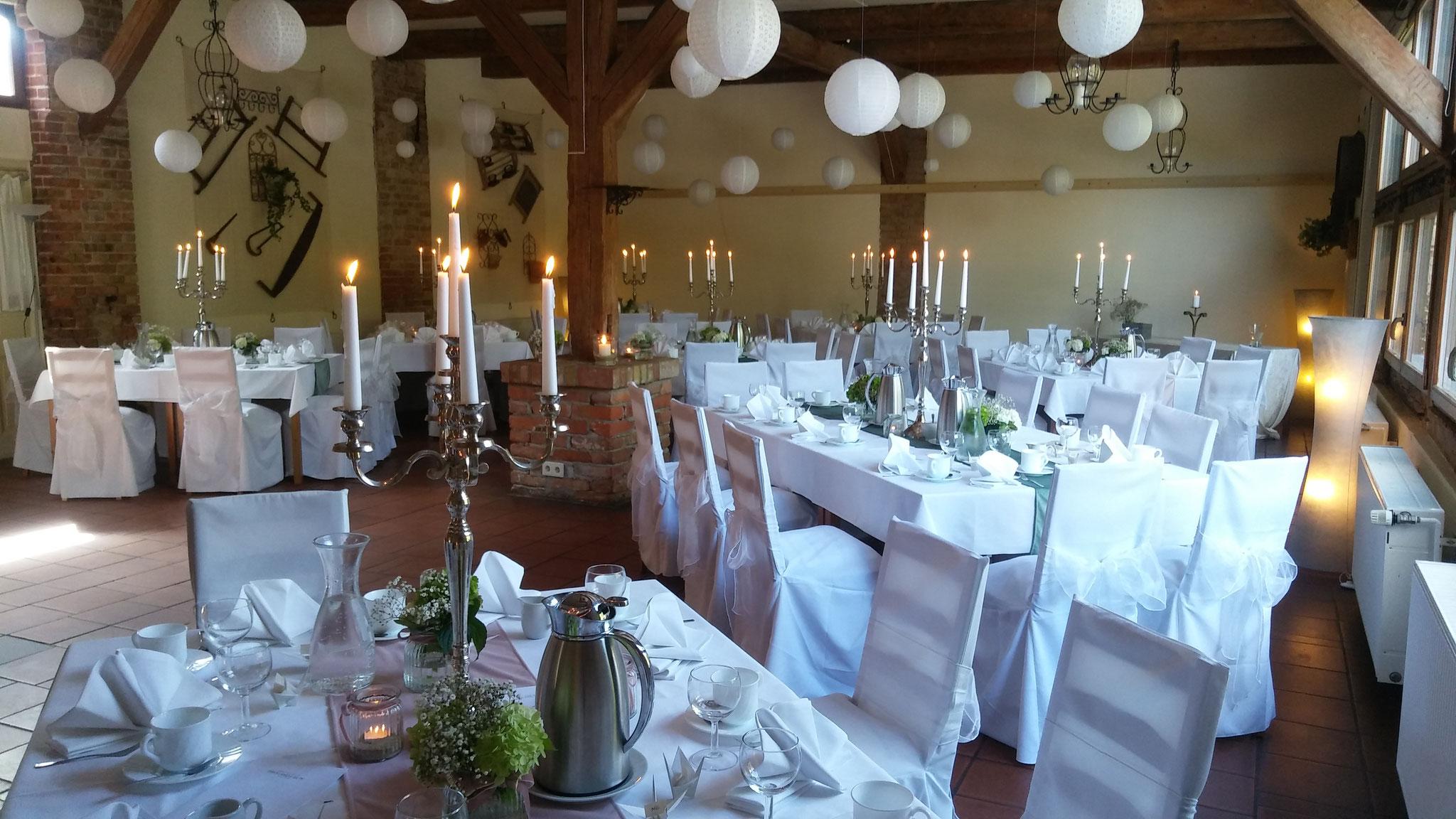 Festliche Tafel Hotel Alte Försterei Kloster Zinna