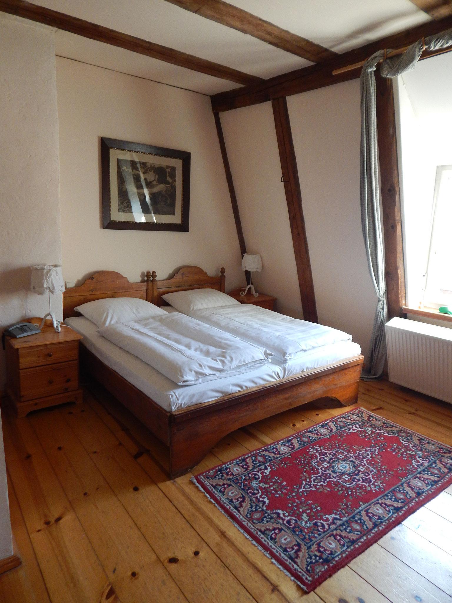 Doppelzimmer im Hotel Alte Försterei Kloster Zinna