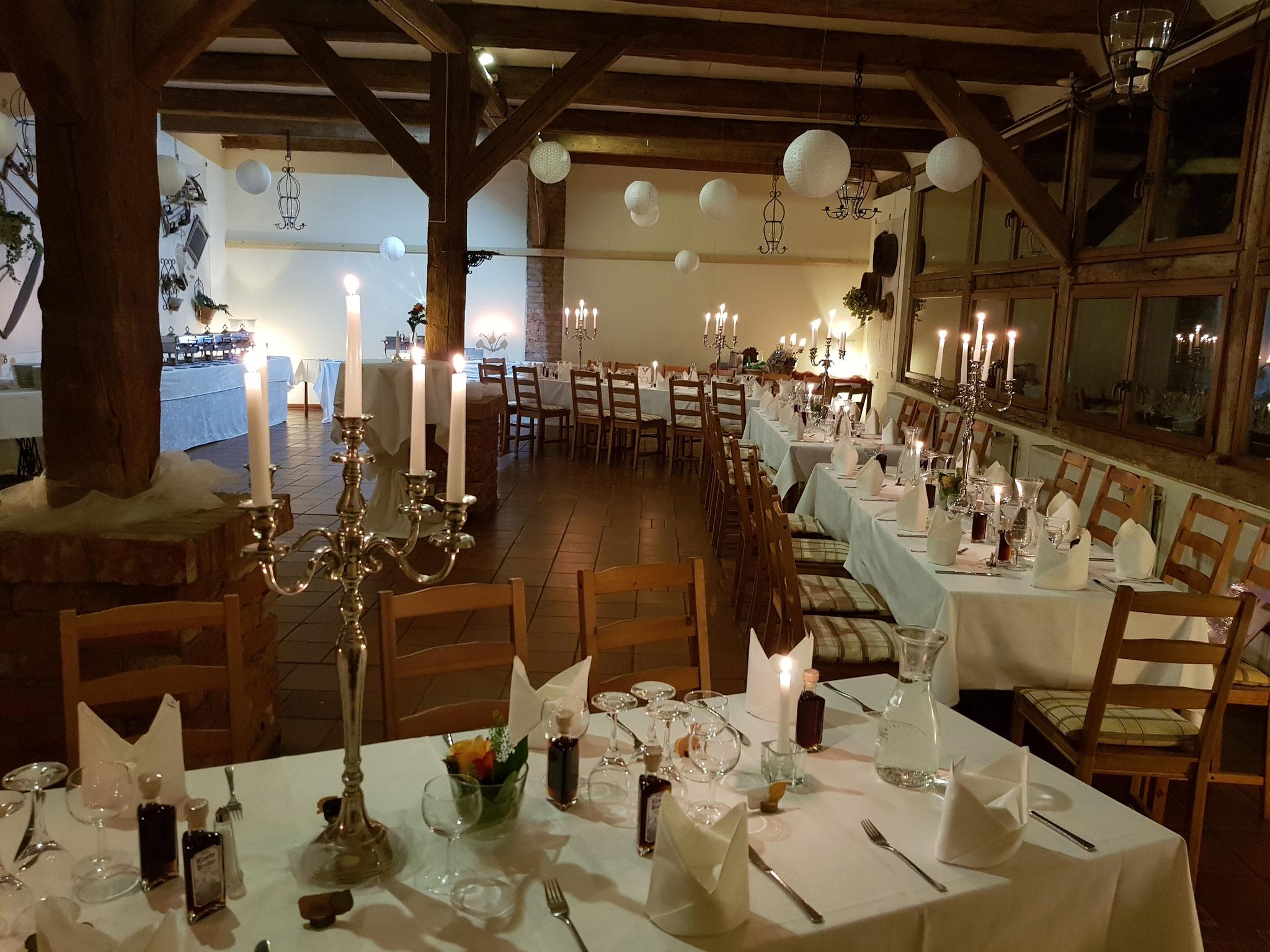 Festlichen Tafel Hotel Alte Försterei Kloster Zinna