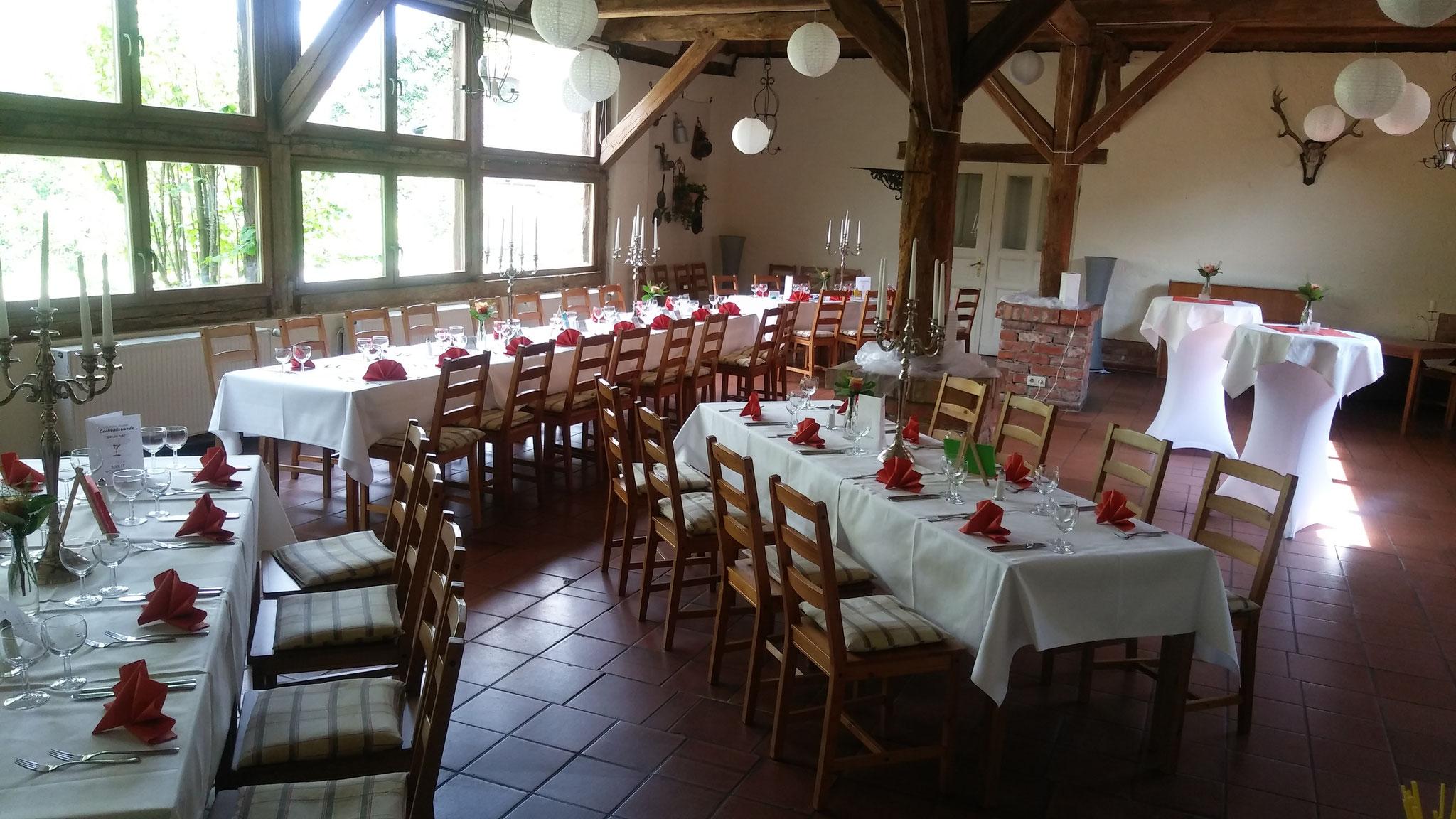 Familienfeiern im Hotel Alte Försterei Kloster Zinna