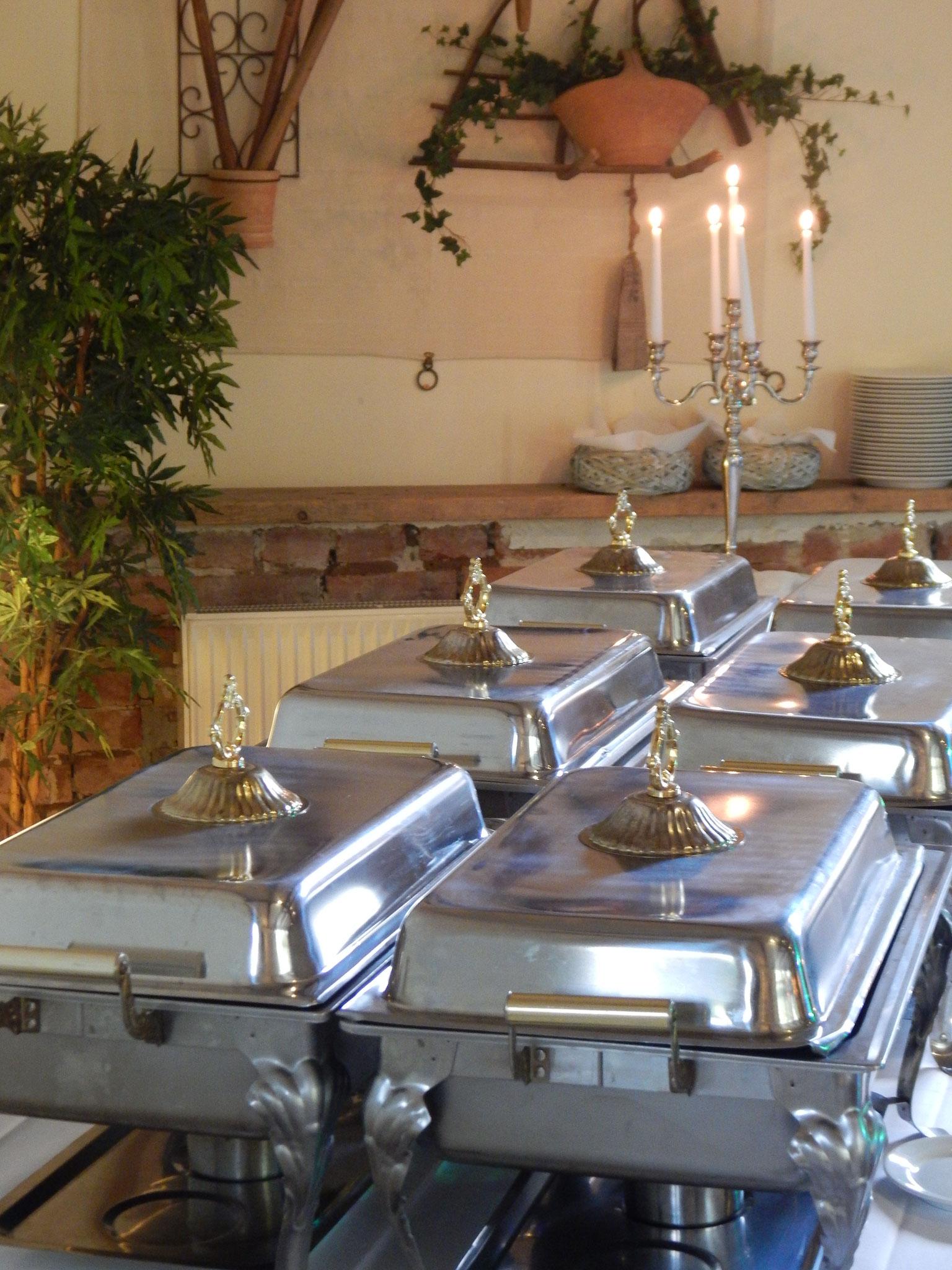Buffet Hotel Alte Försterei Kloster Zinna