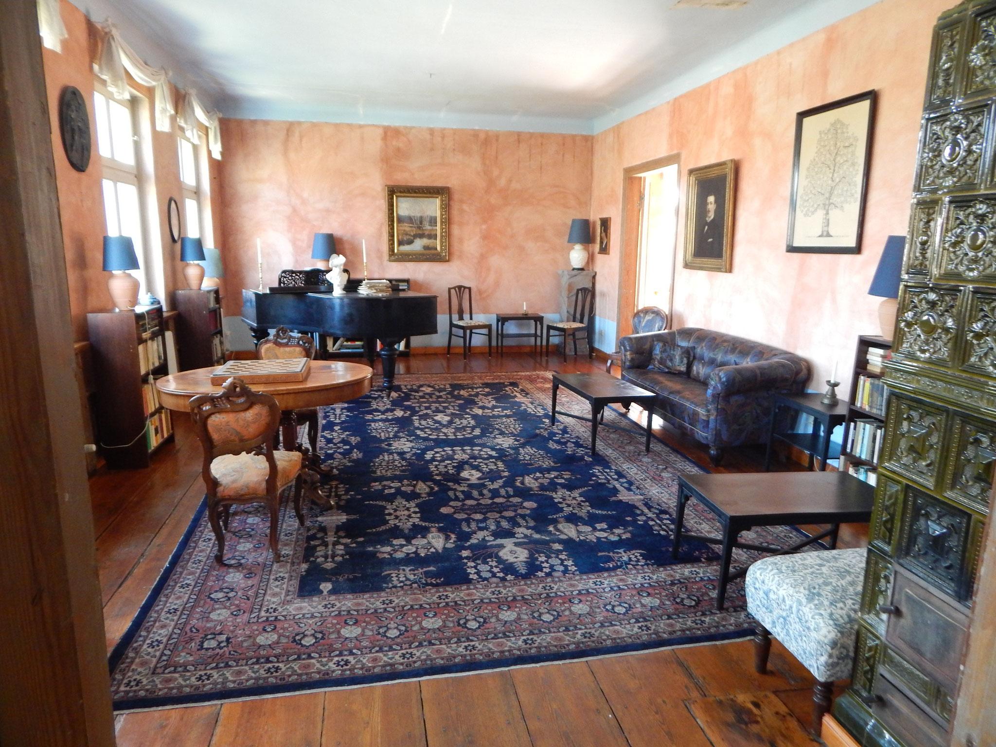 Lesezimmer im Hotel Alte Försterei Kloster Zinna