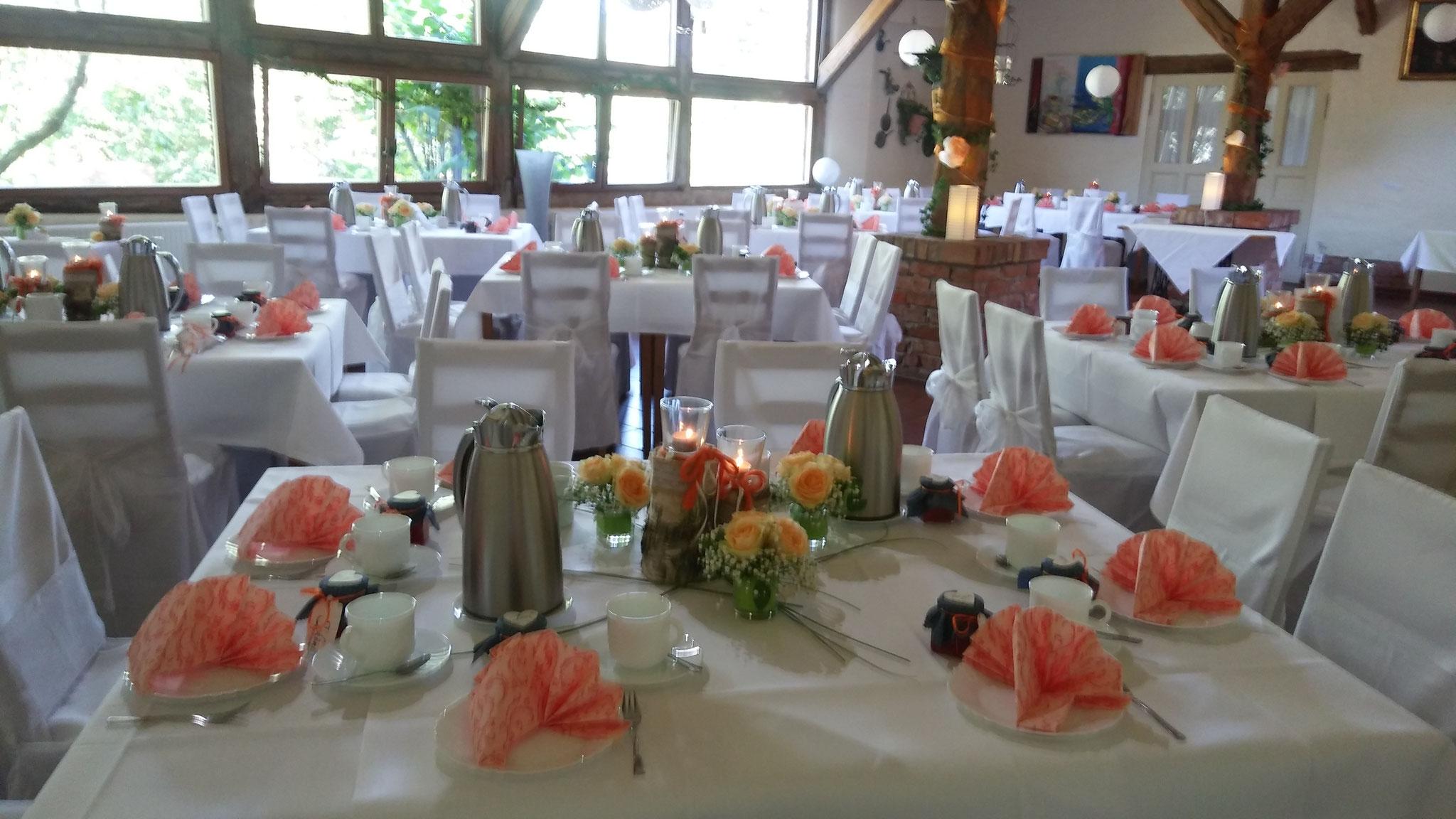 Hochzeitstafel Hotel Alte Försterei Kloster Zinna