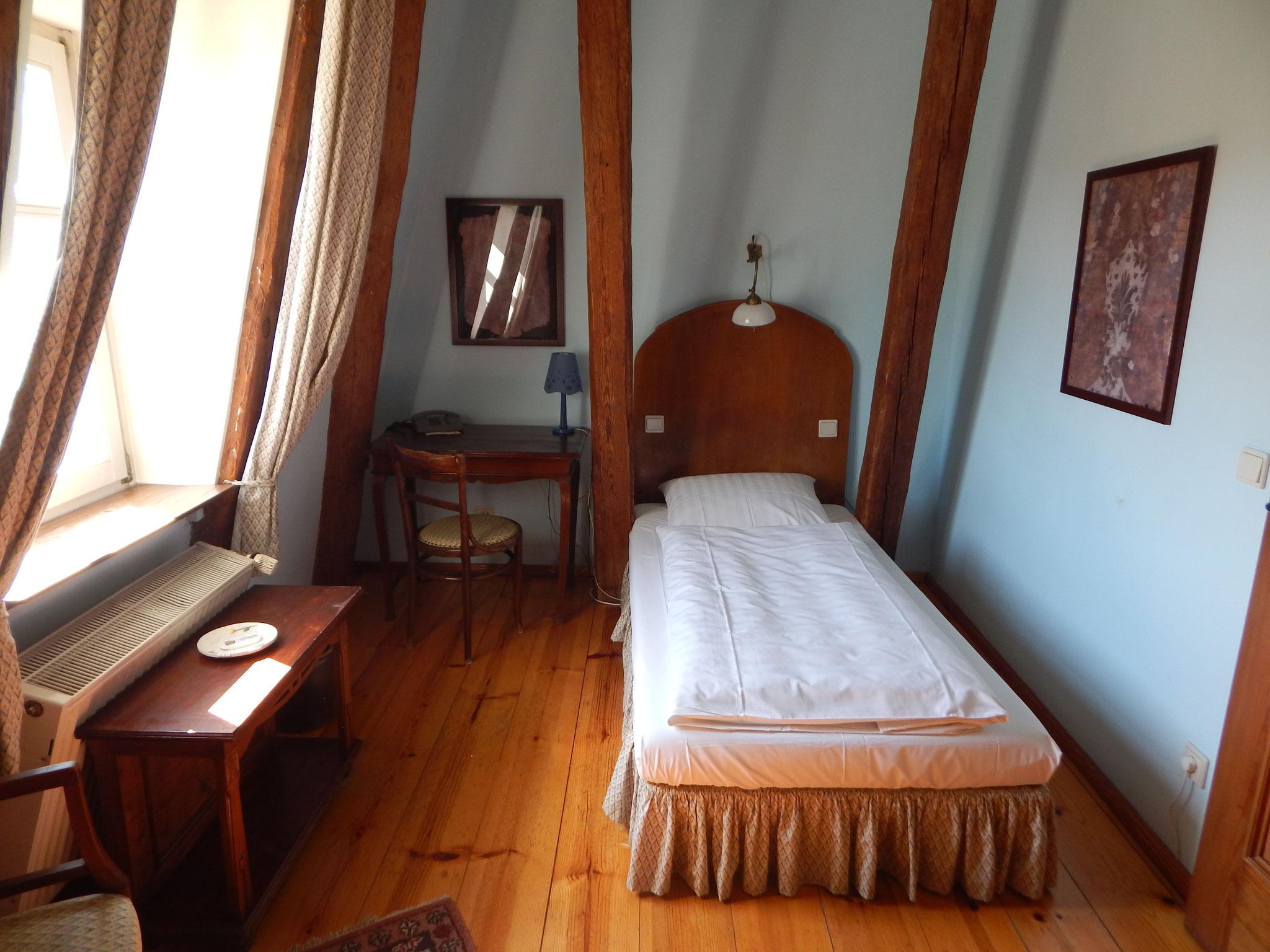 Einzelzimmer im Hotel Alte Försterei Kloster Zinna