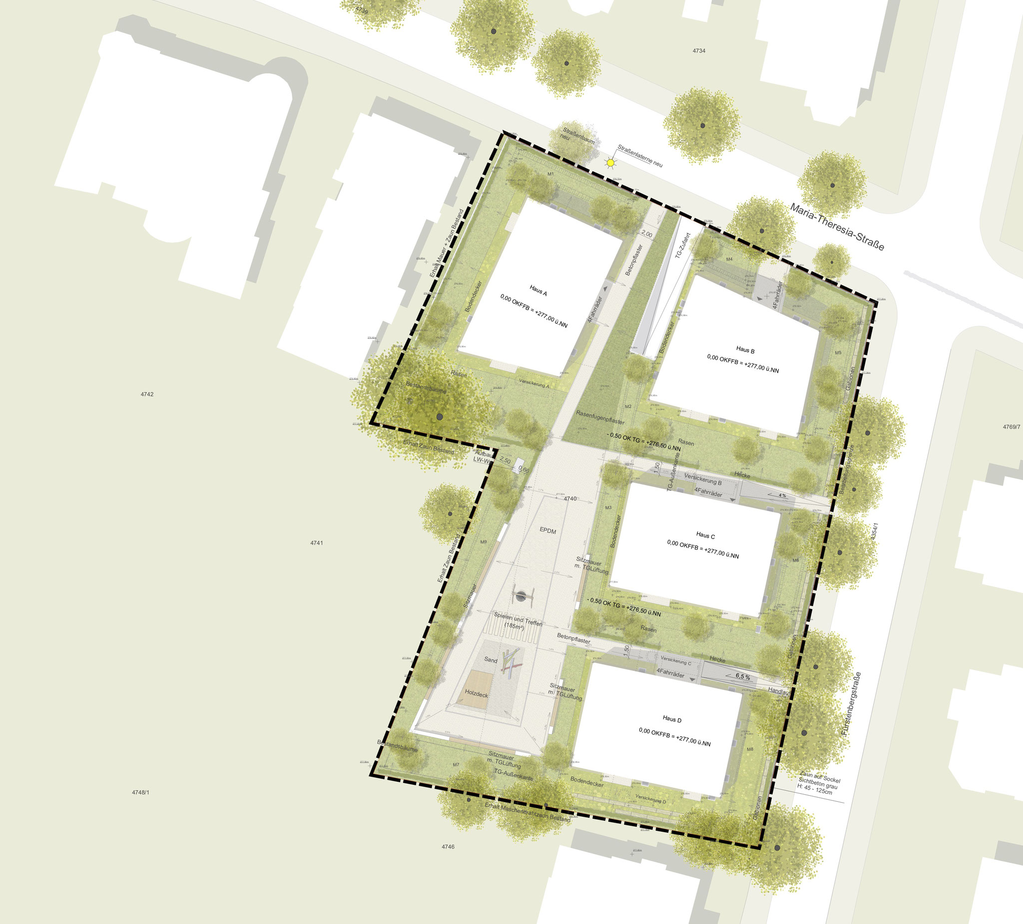 Wohnungsüberbauung, Freiburg - Lph 8