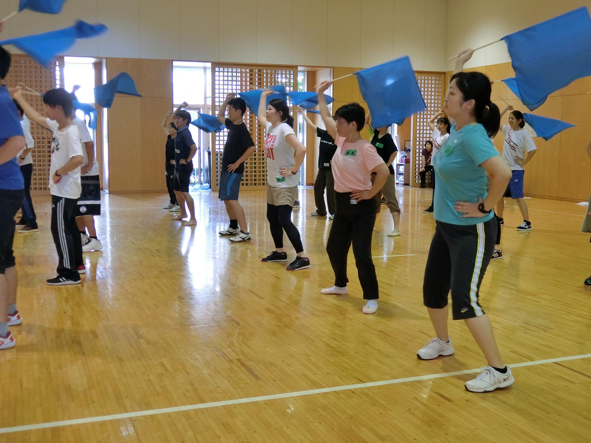 運動会のダンス