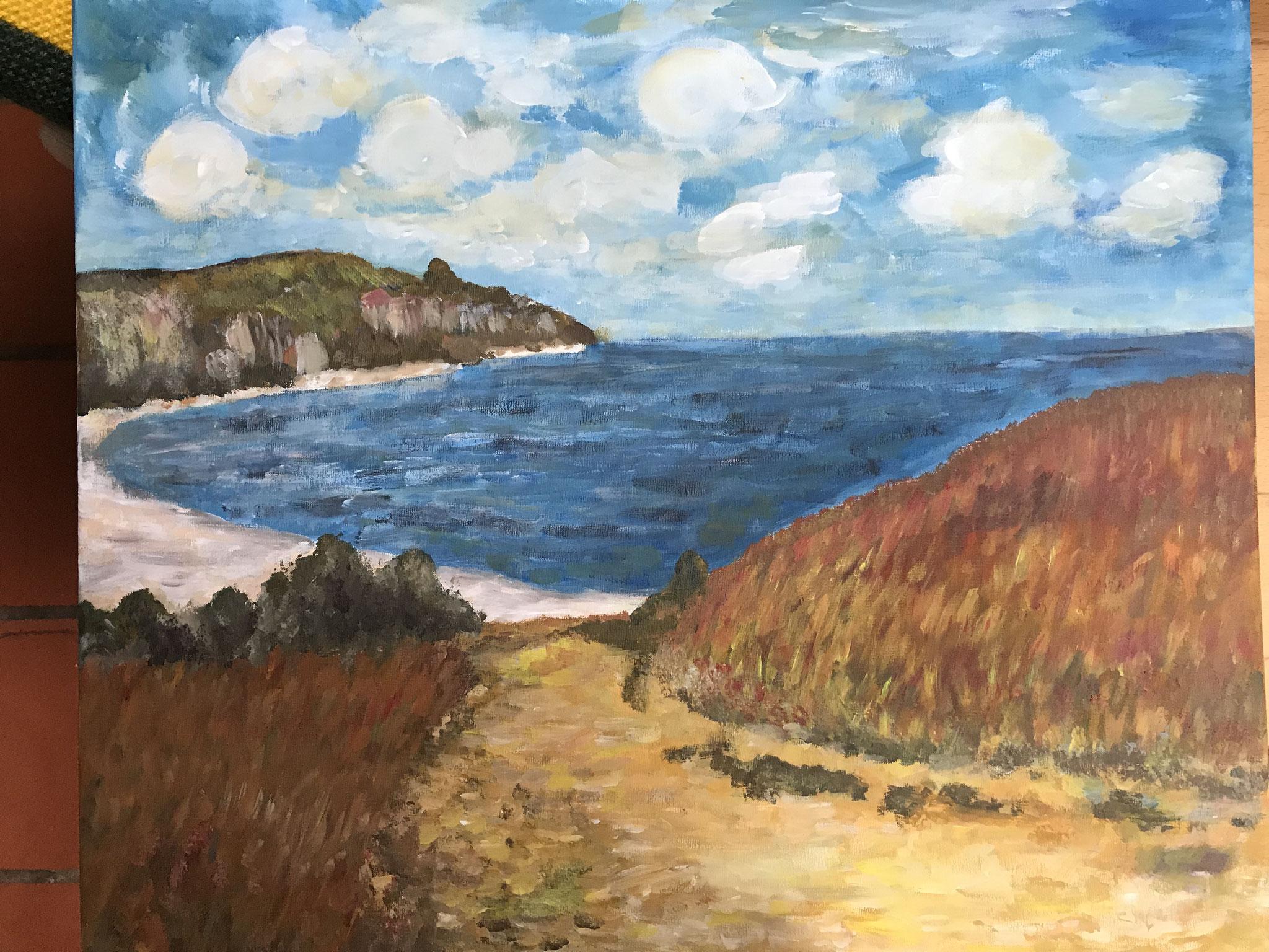 Mein erster Monet (Pinsel)