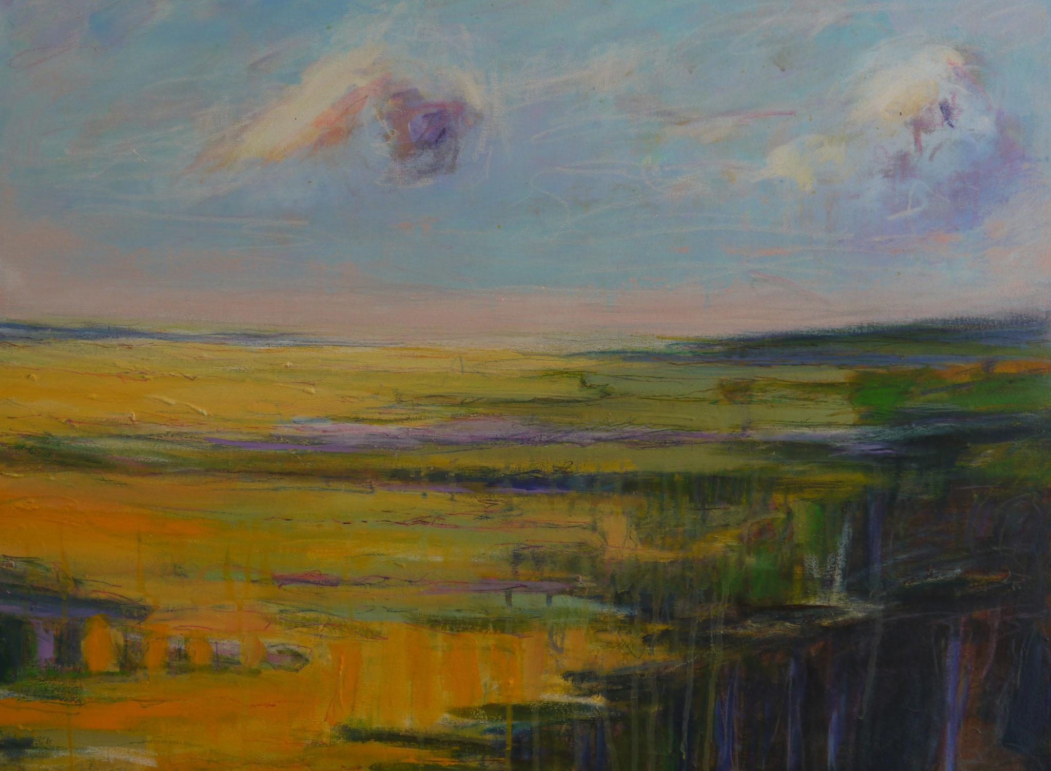 northern summer  canvas 60 cm / 80 cm