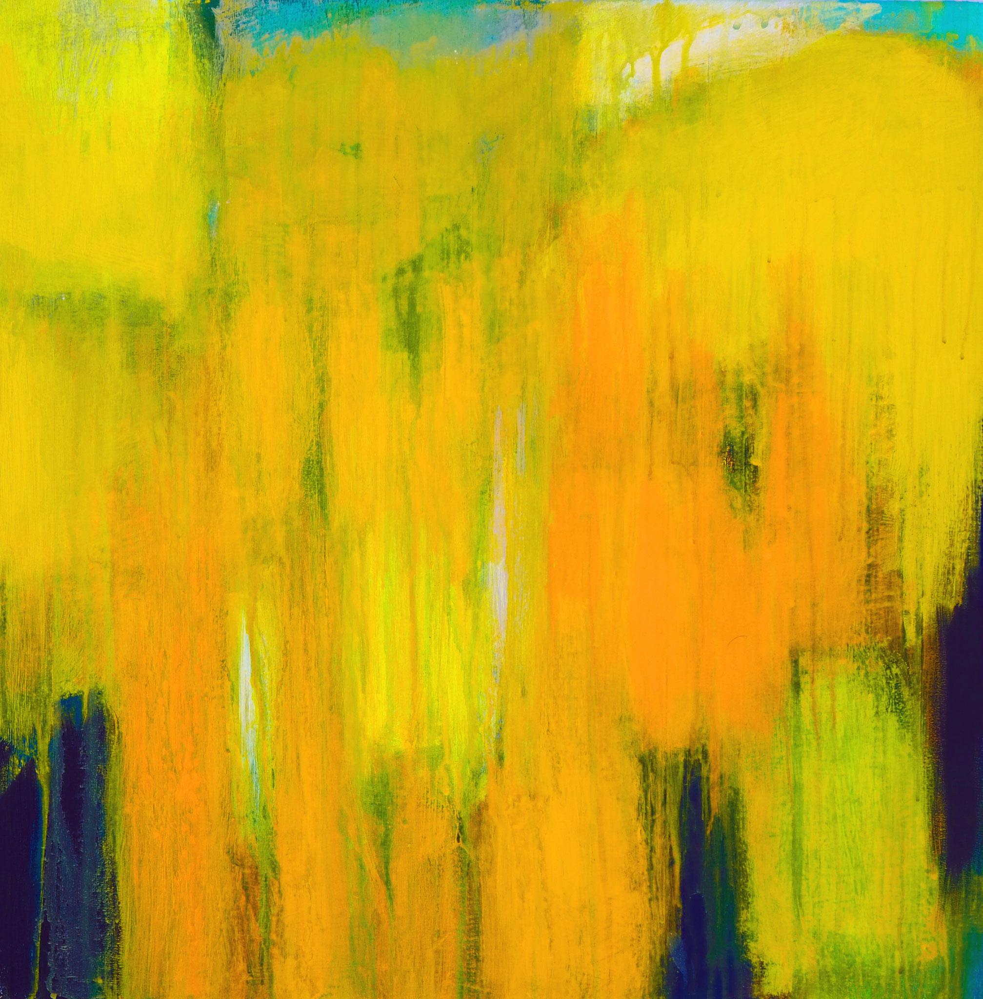 northern summer 3 acryl on canvas  50 cm / 50 cm