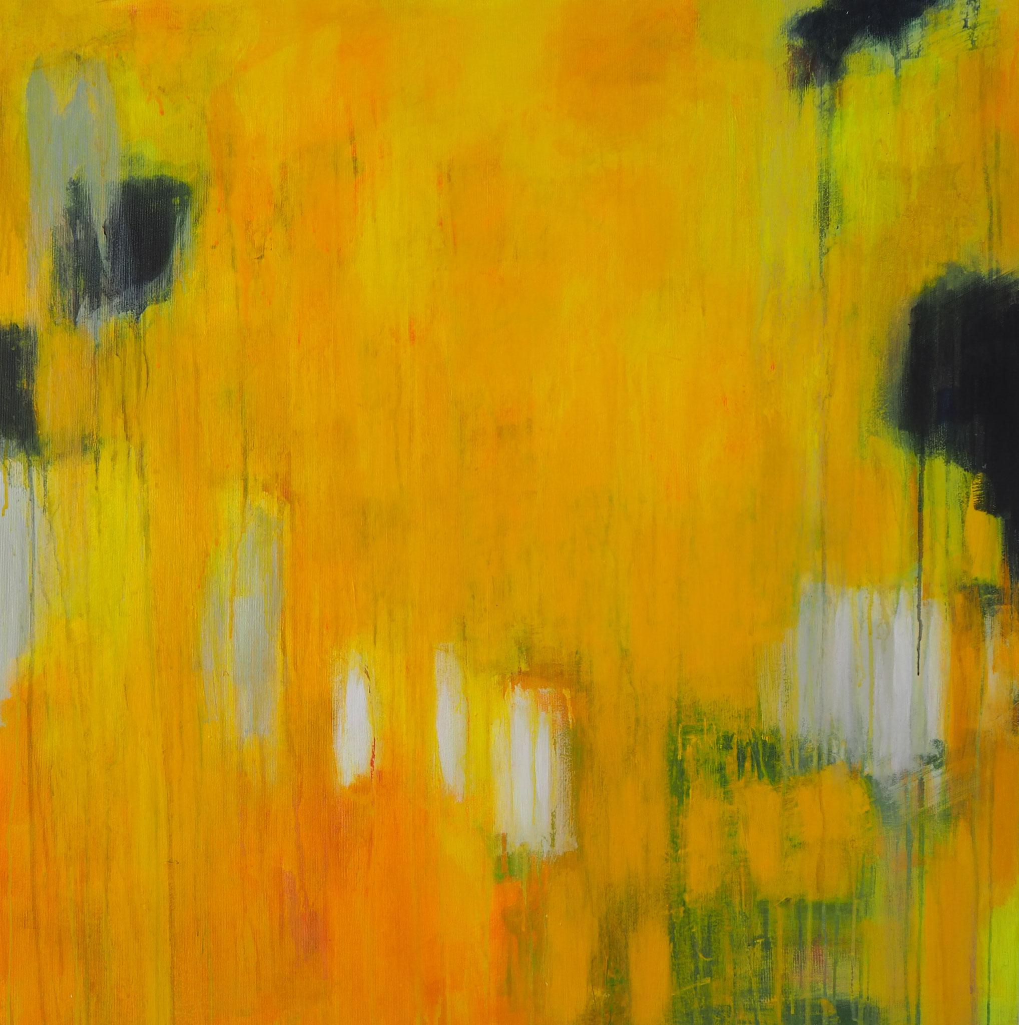 summer dream 1  acryl on canvas  80 cm / 80 cm