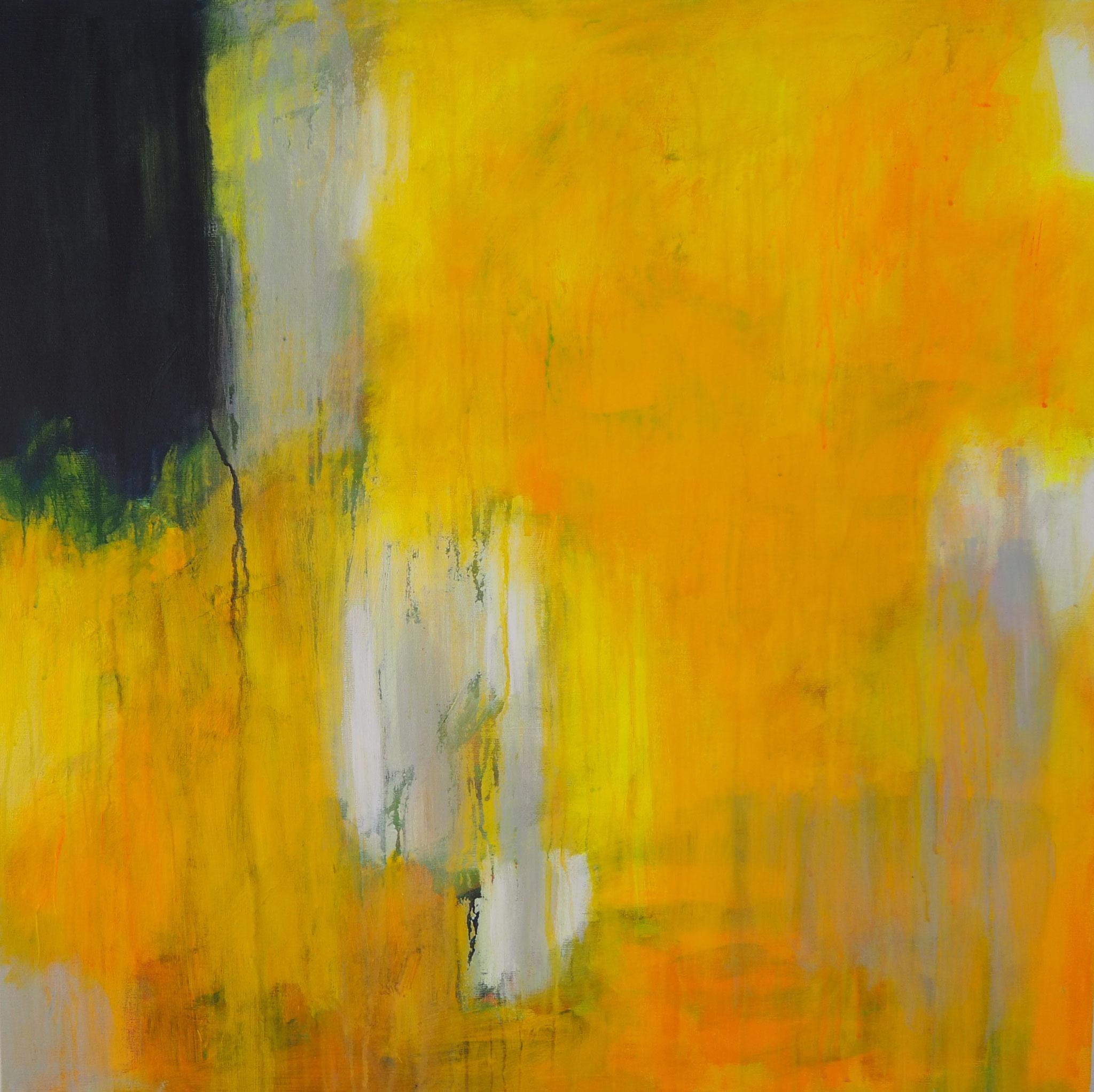 summer dream 2  acryl on canvas  80 cm / 80 cm