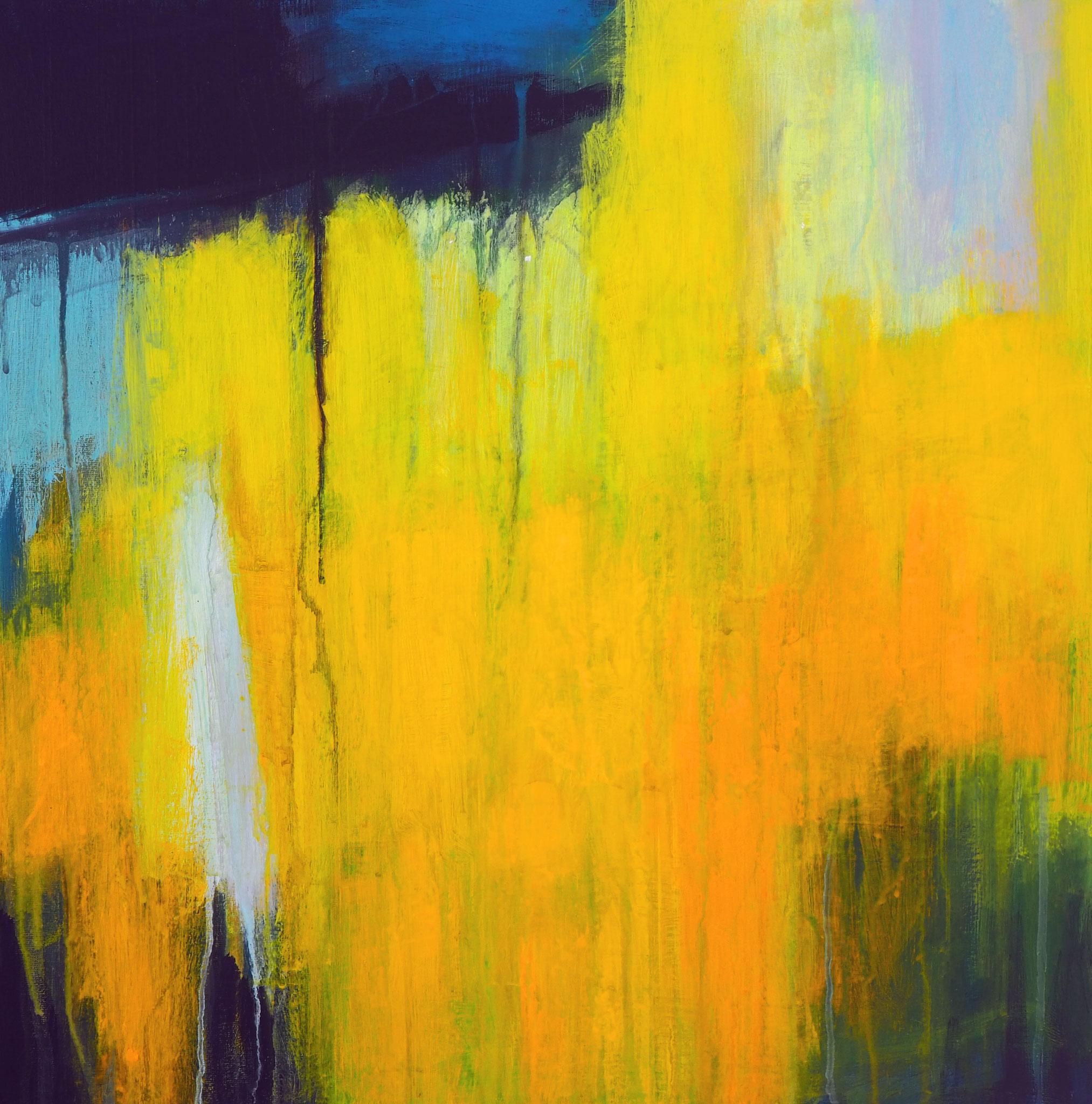 northern summer 4 acryl on canvas  50 cm / 50 cm
