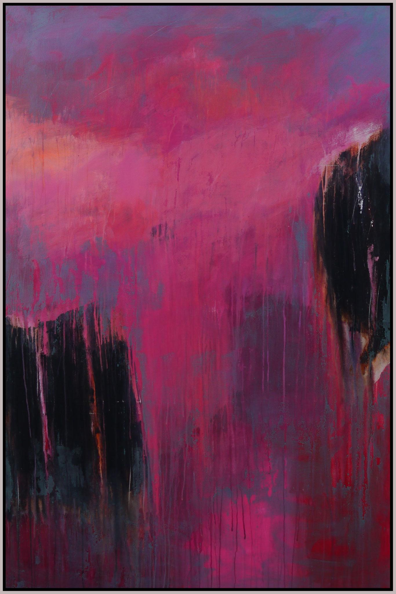 think pink III canvas 150 cm / 100 cm