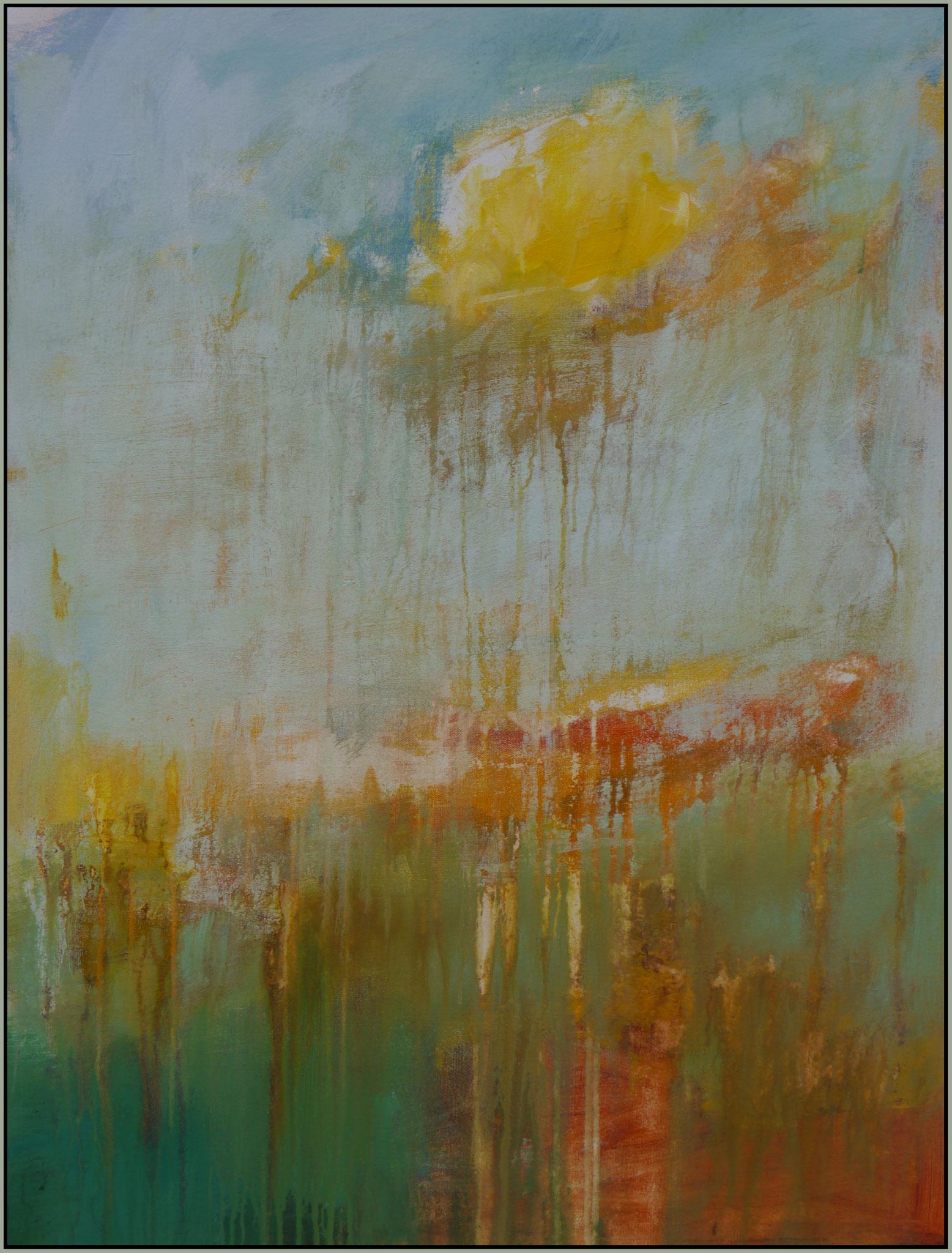 Springtime (2018)  canvas  80 cm / 60 cm
