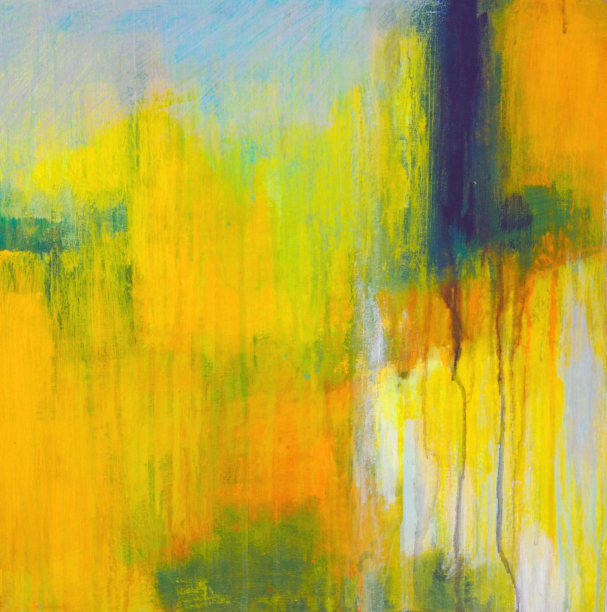 northern summer 1 acryl on canvas  40 cm / 40 cm