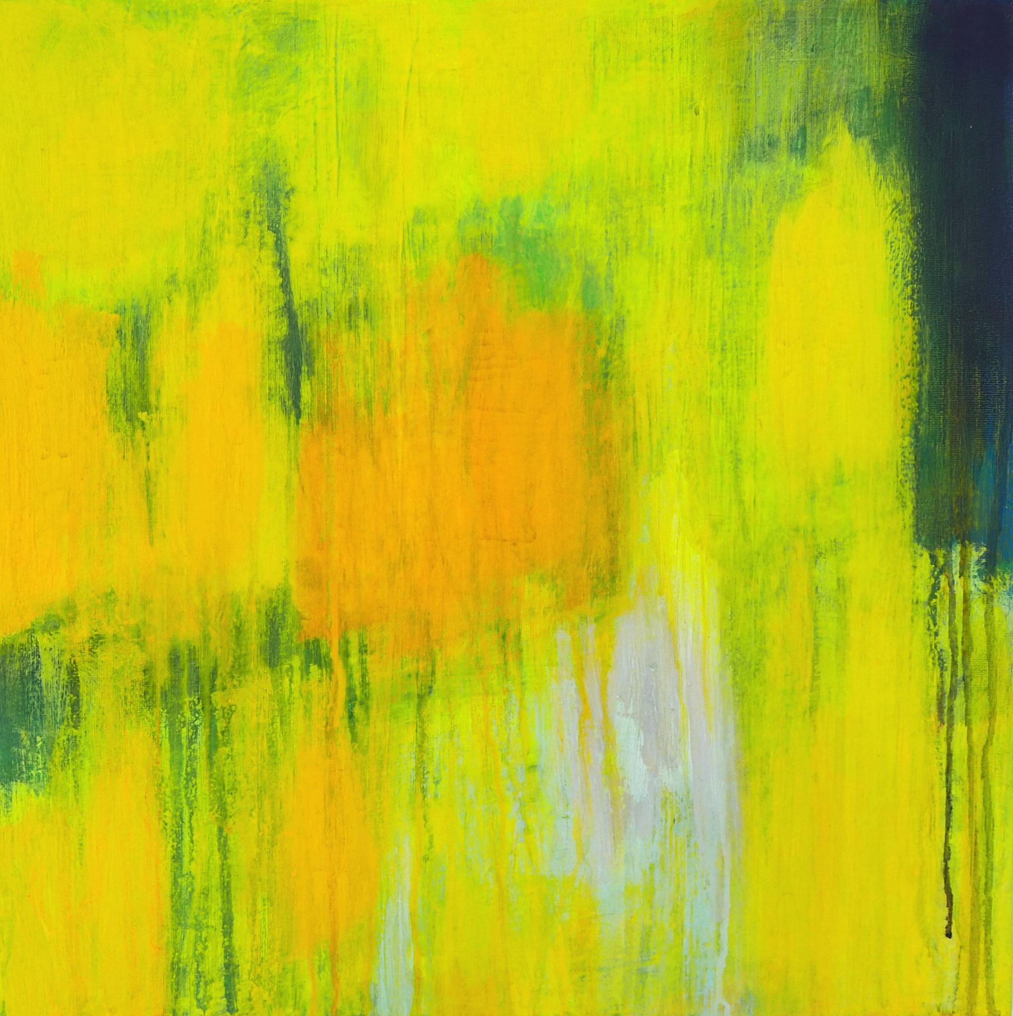 northern summer 2 acryl on canvas  40 cm / 40 cm