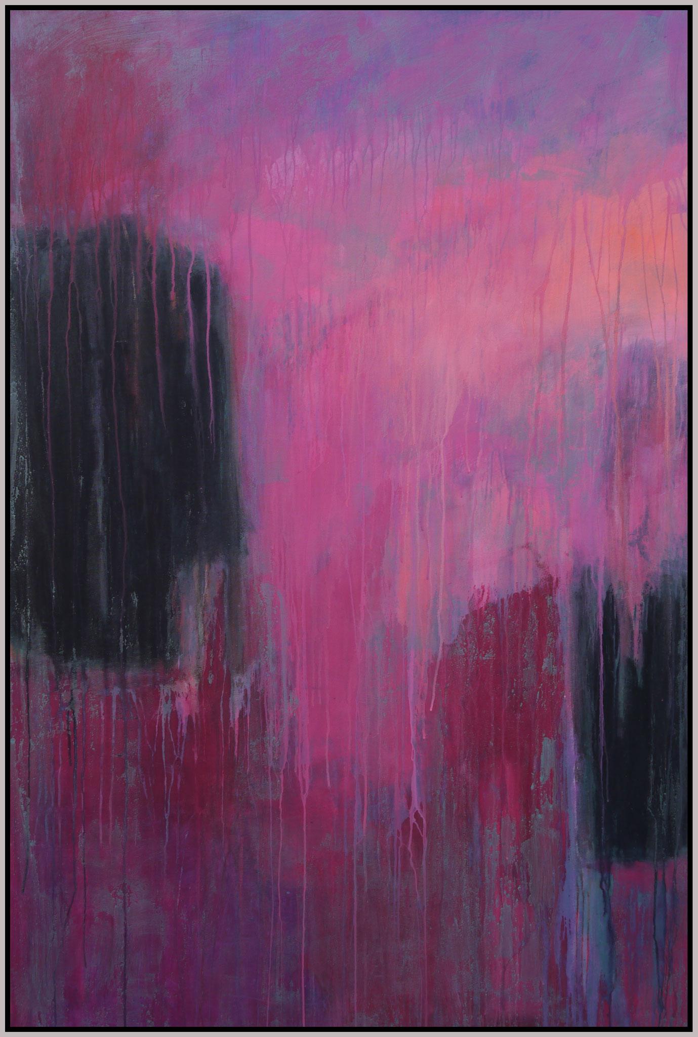 think pink II  canvas 150 cm / 100 cm