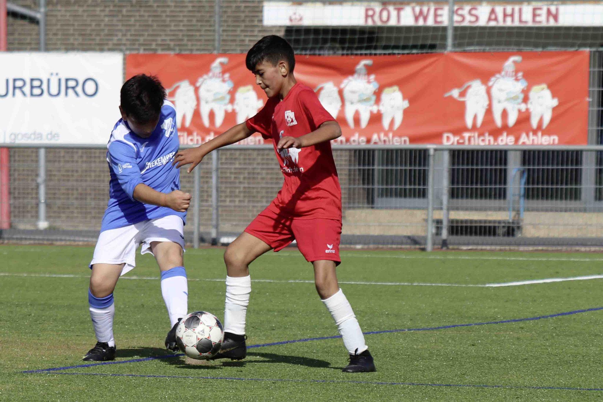 Rot Weiss Ahlen U12 D2 gegen Oelde II