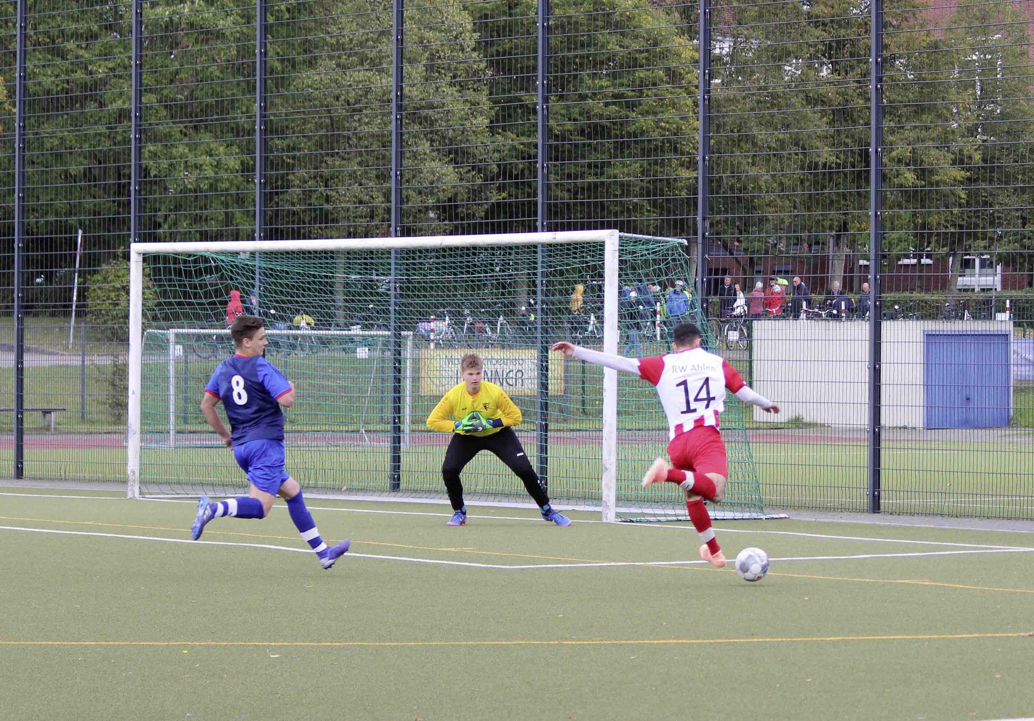 Rot Weiss Ahlen U18 gegen Werner SC