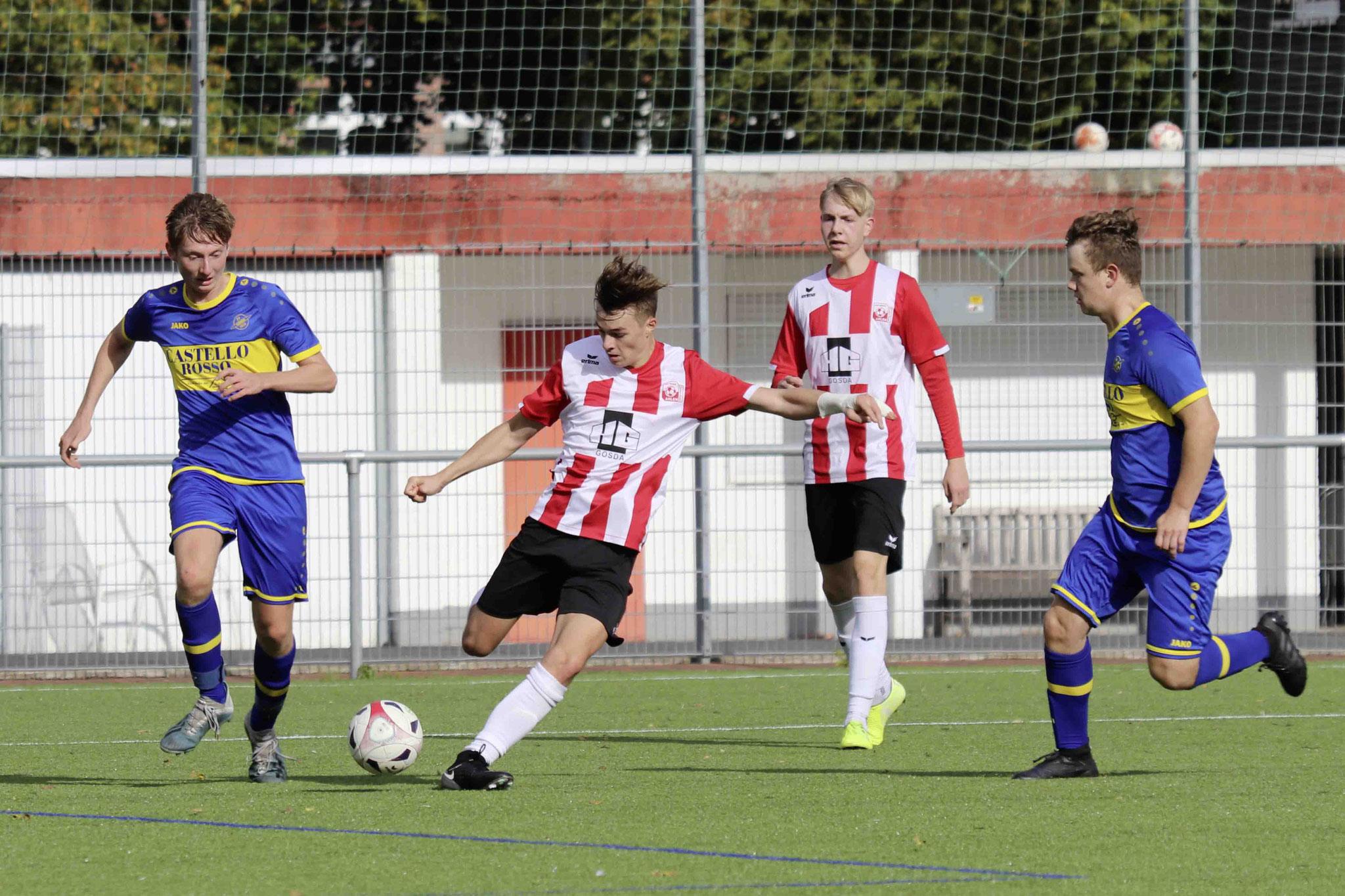 Rot Weiss Ahlen U18 gegen SV Herbern