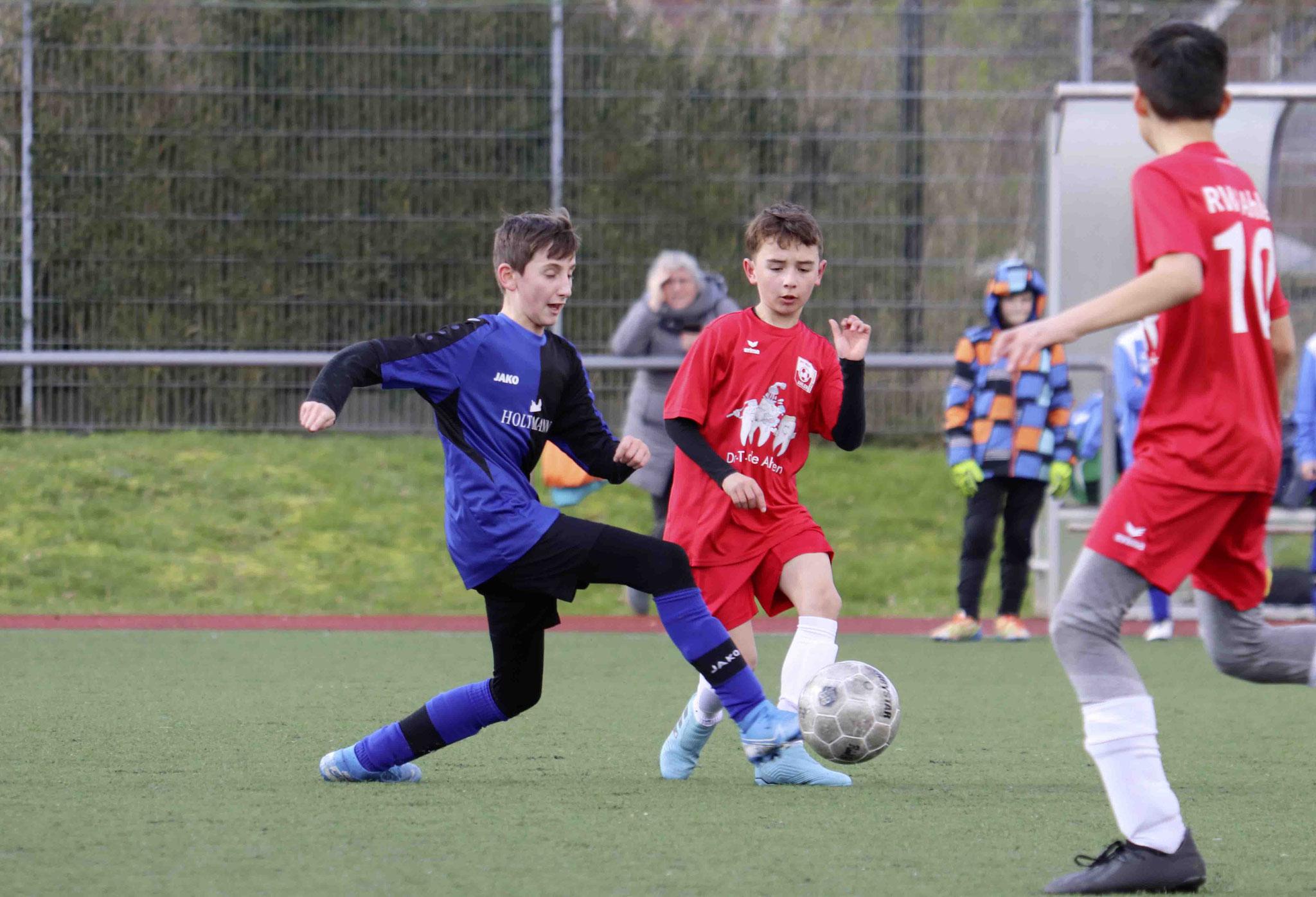 Rot Weiss Ahlen U10 E2 gegen Aramäer Ahlen