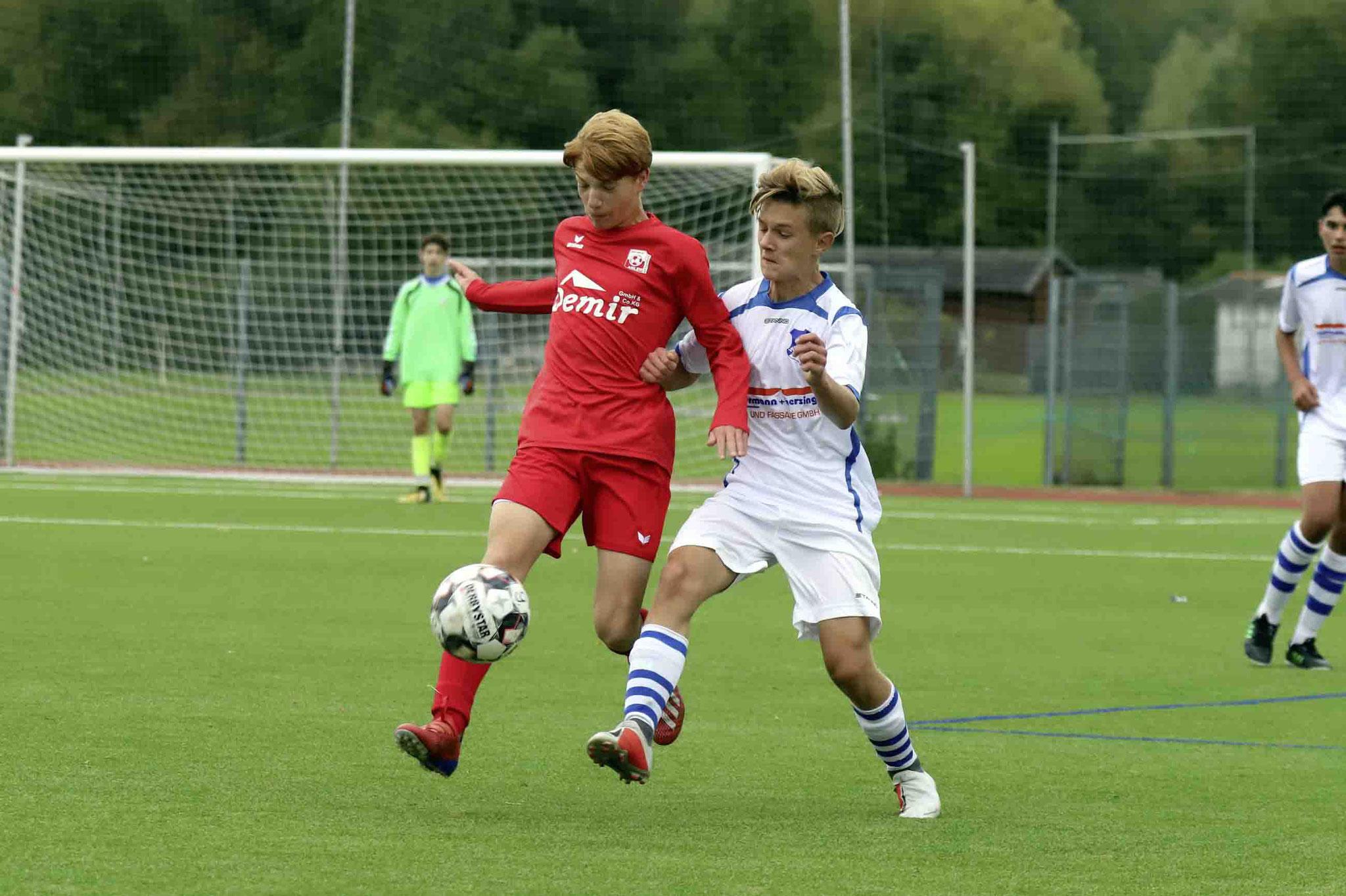 Rot Weiss Ahlen U15 gegen Spvg Oelde