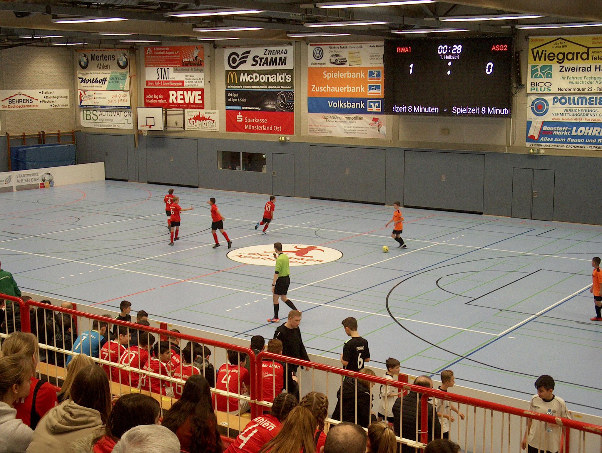 Hallenstadtmeisterschaft Rot Weiss Ahlen