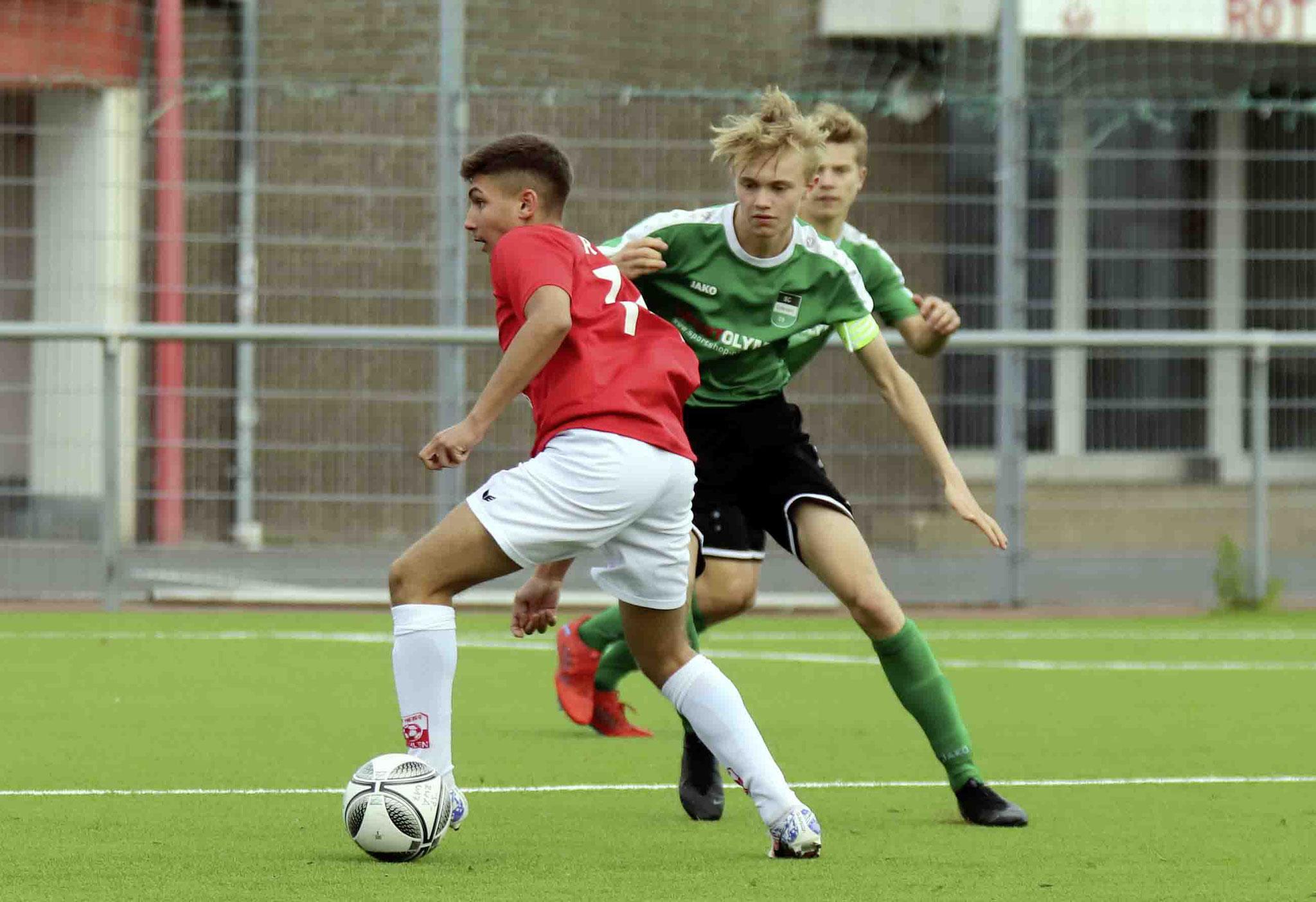 Rot Weiss Ahlen U17 gegen SC Greven 09